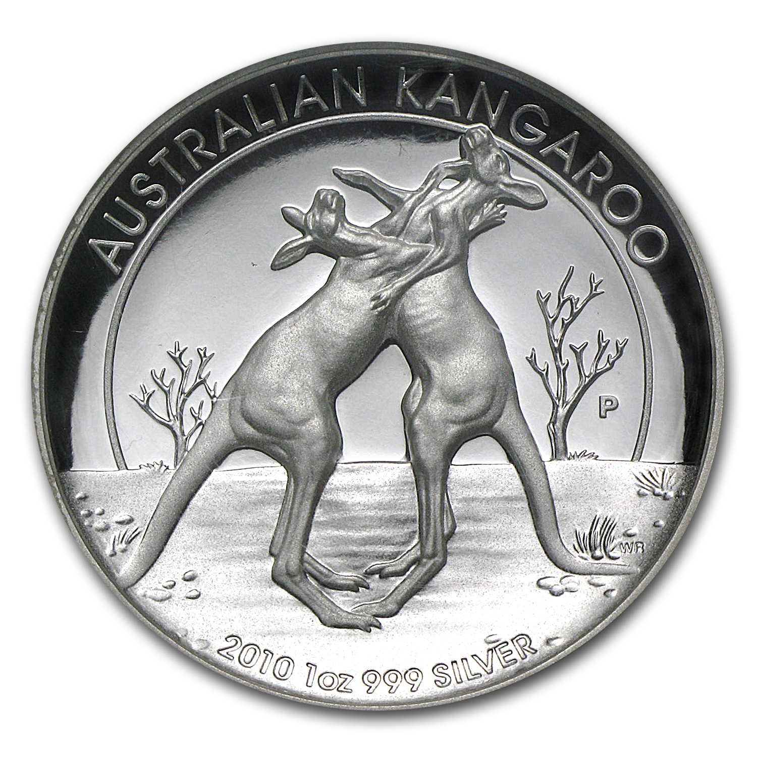 2010 1 oz Silver High Relief Proof Kangaroo PF-70 UCAM NGC