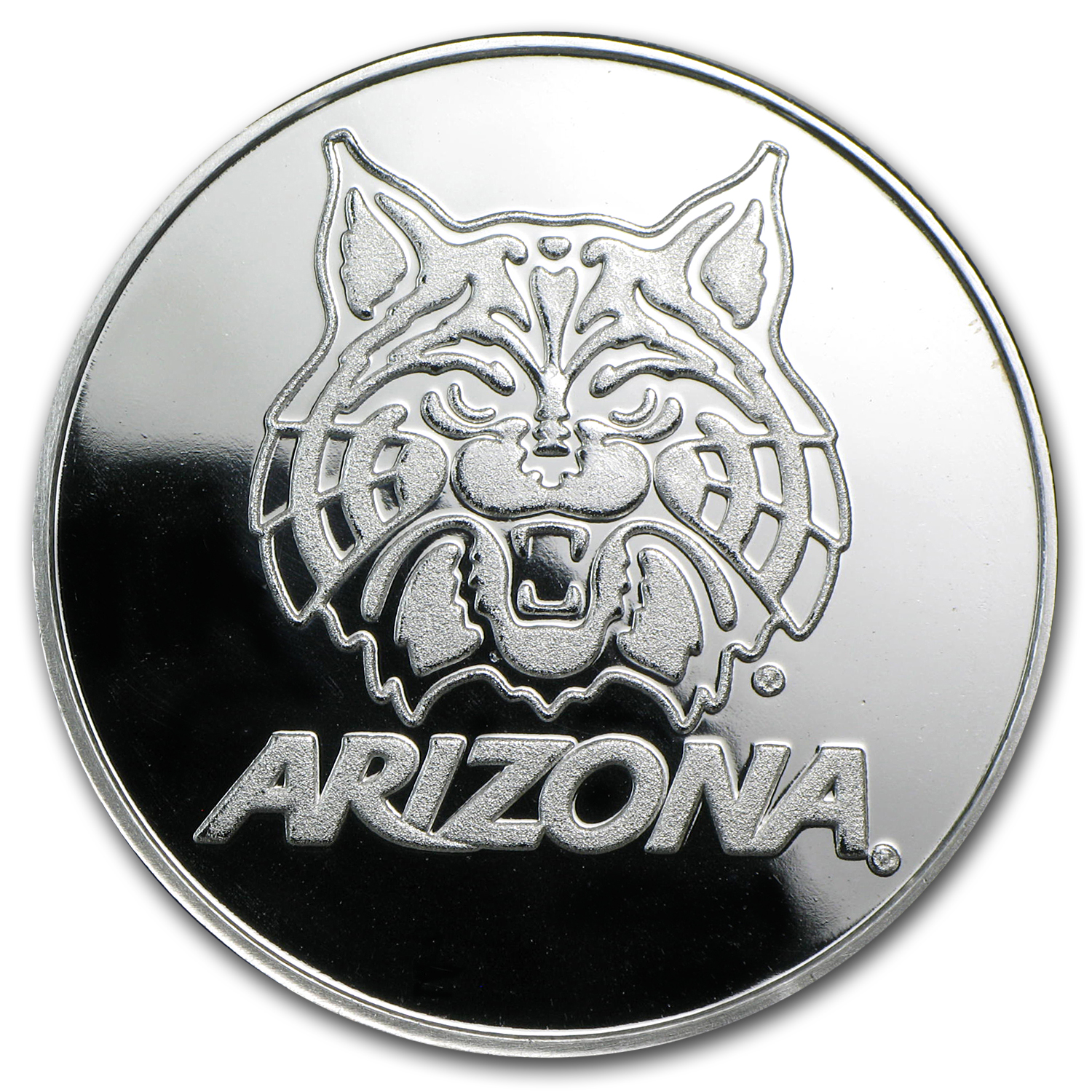 1 oz Silver Round - University of Arizona