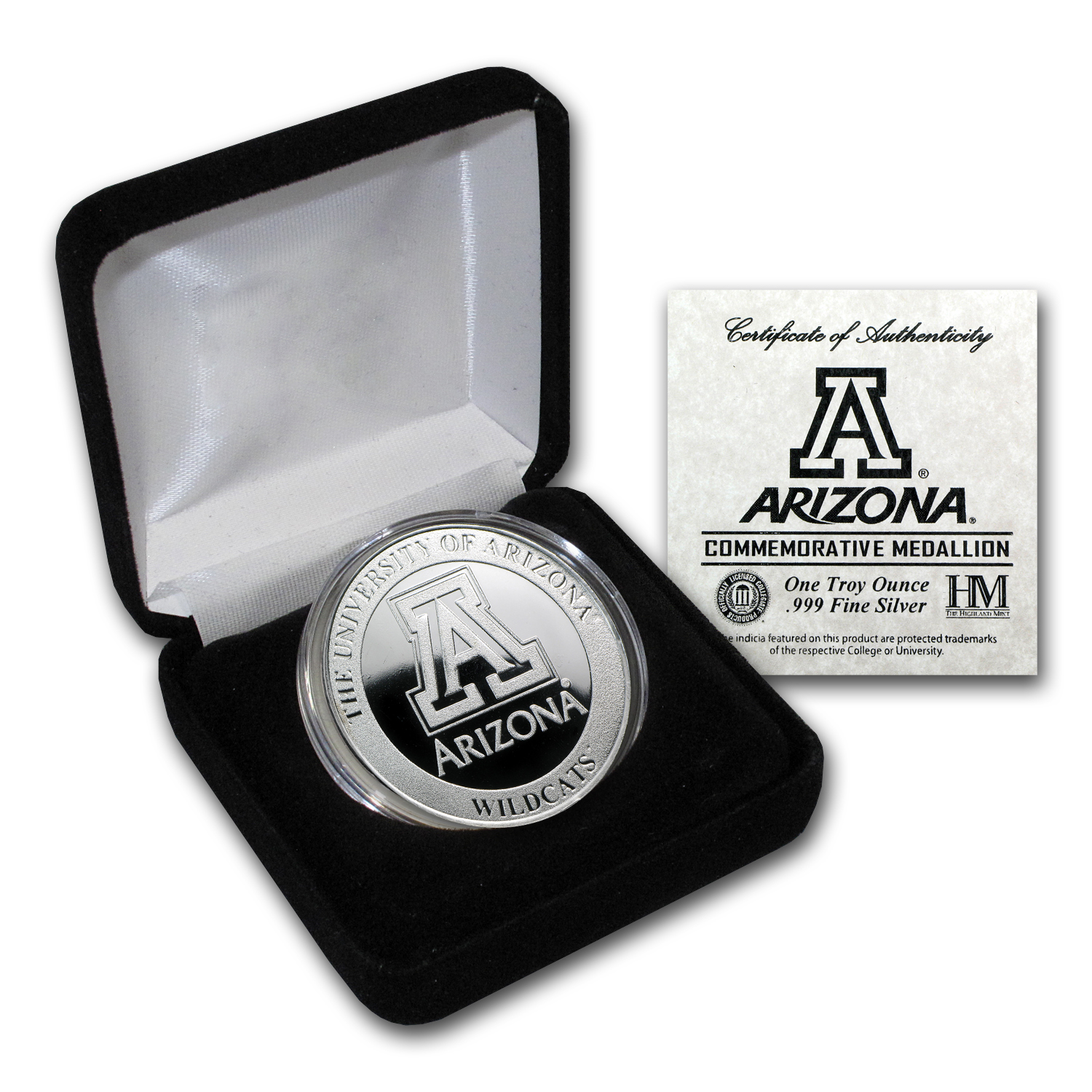 1 oz University of Arizona Silver Round