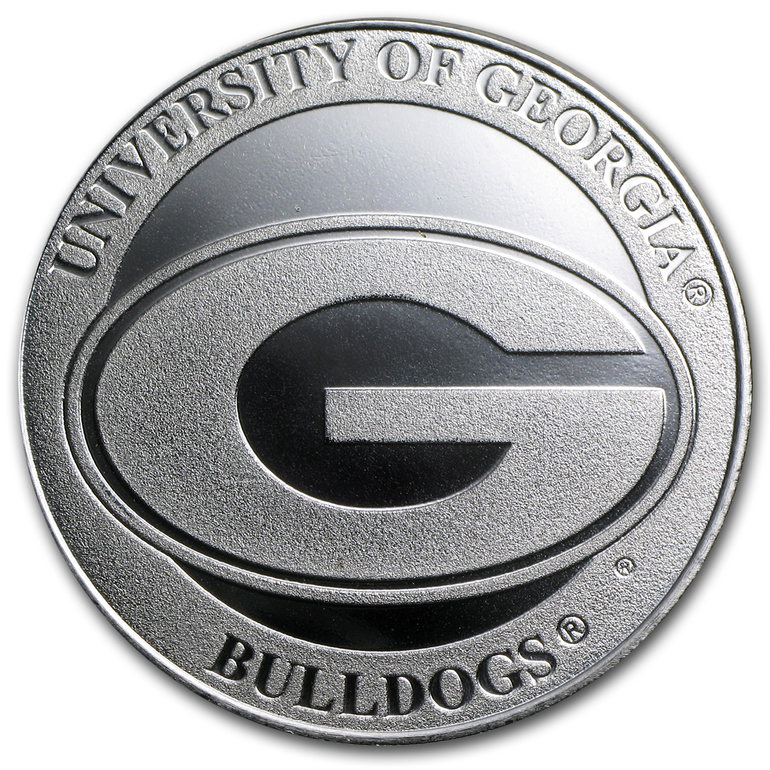 1 oz University of Georgia Silver Round