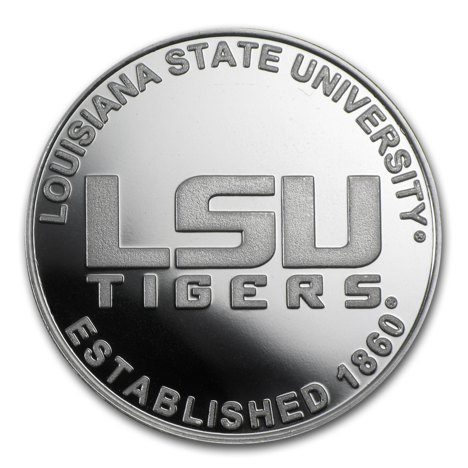 1 oz Louisiana State University Silver Round