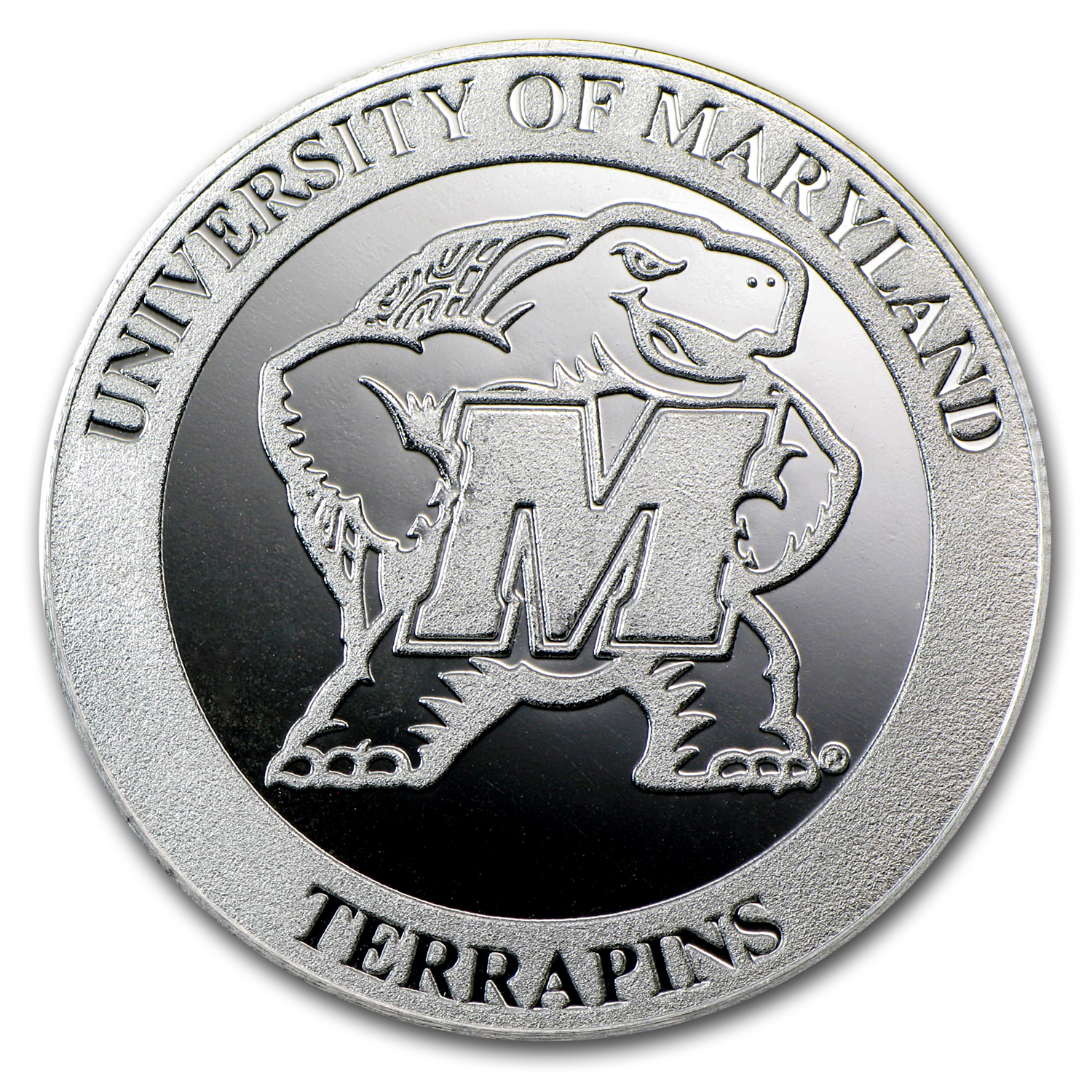 1 oz Silver Round - University of Maryland