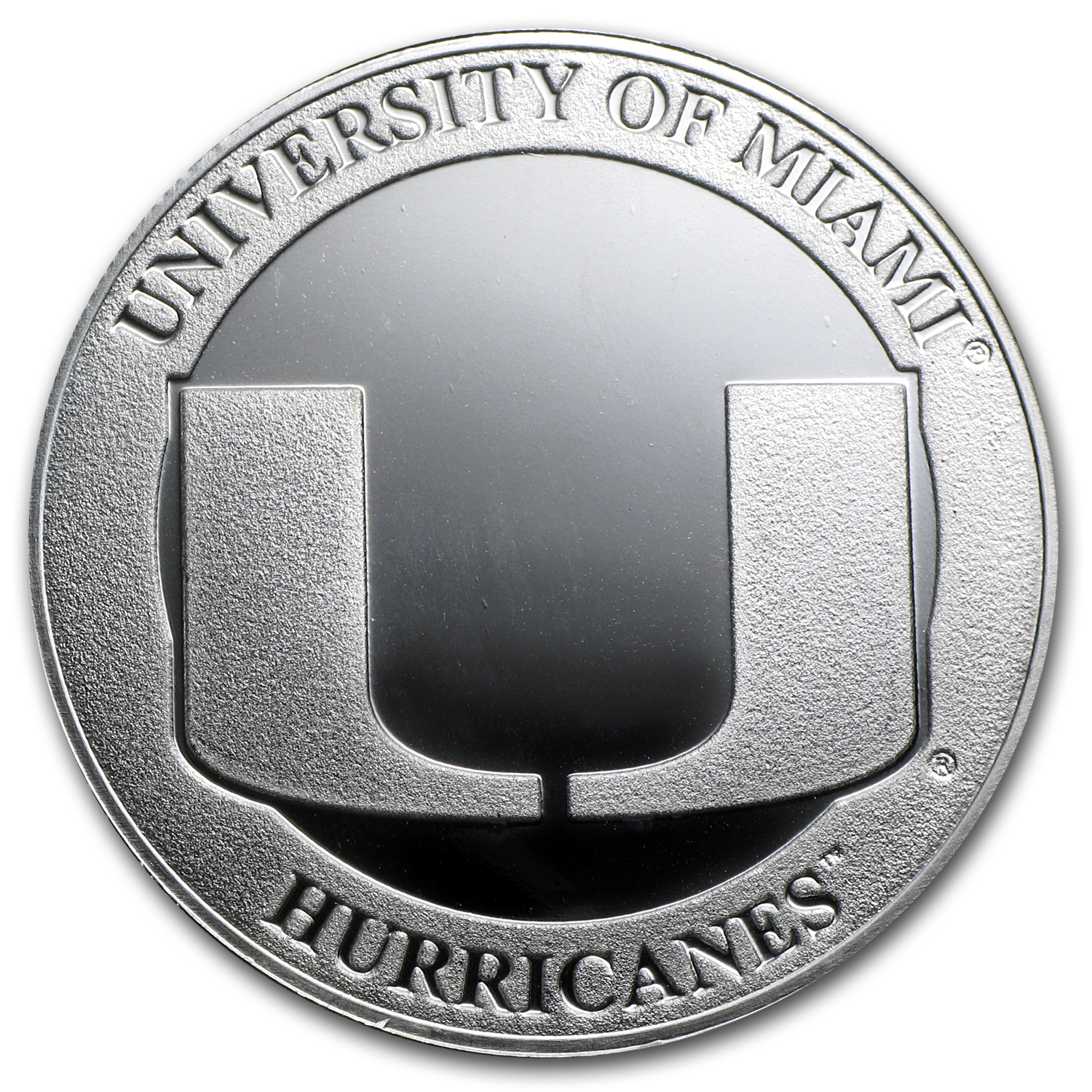 1 oz Silver Round - University of Miami