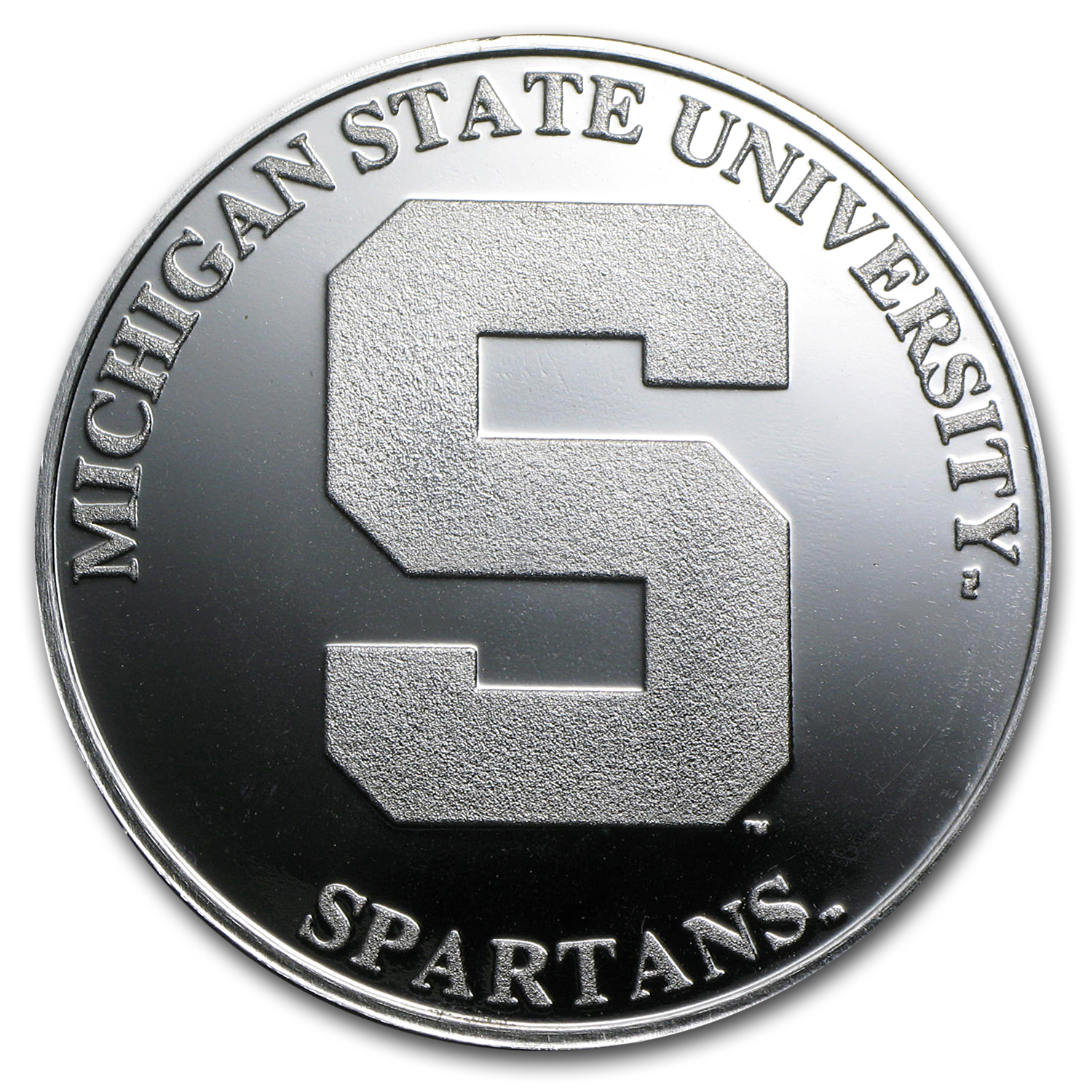 1 oz Silver Round - Michigan State University