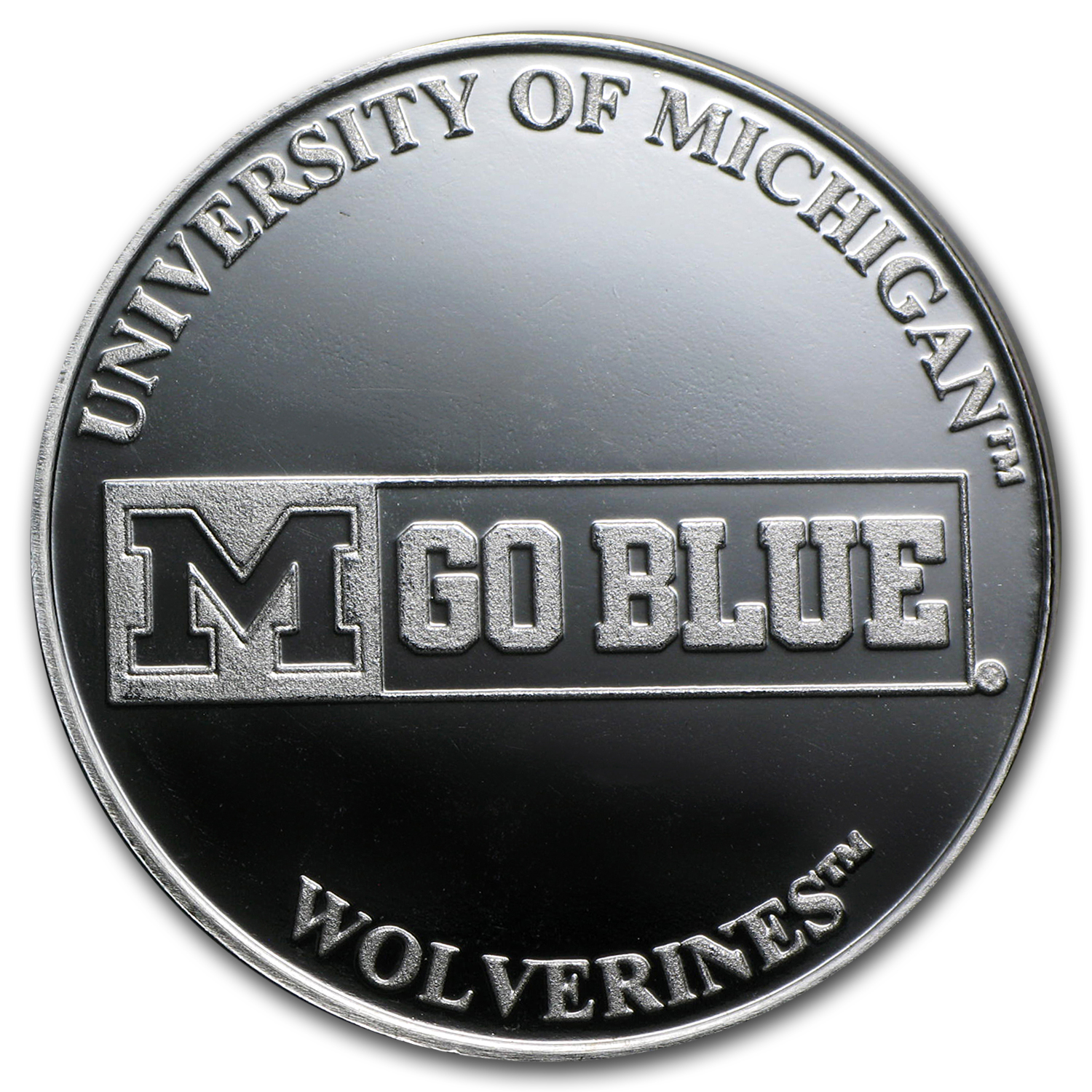 1 oz Silver Round - University of Michigan