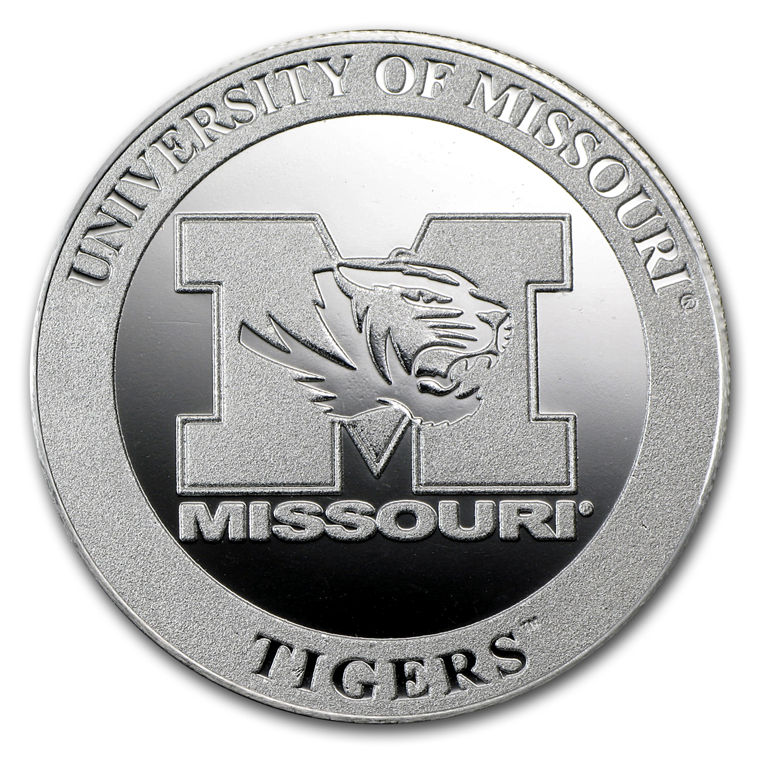 1 oz Silver Round - University of Missouri
