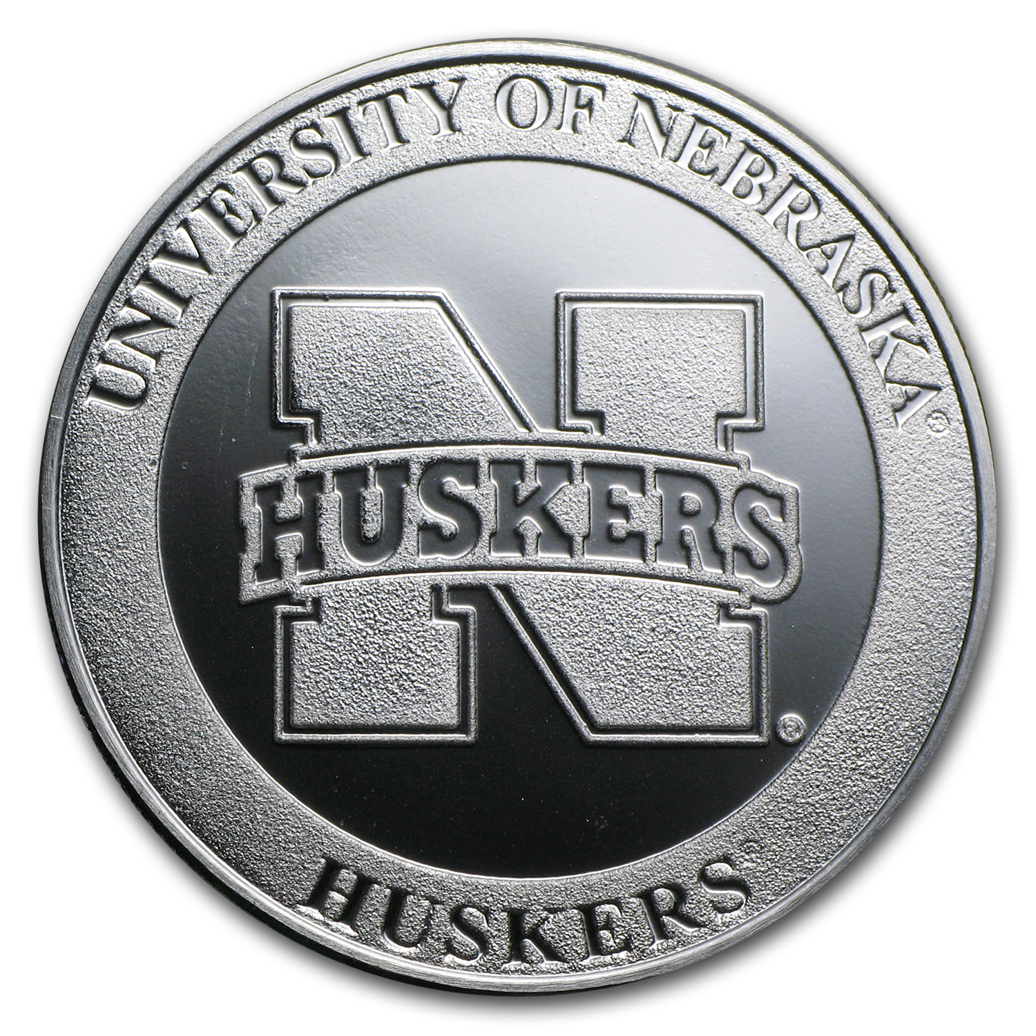 1 oz Silver Round - University of Nebraska