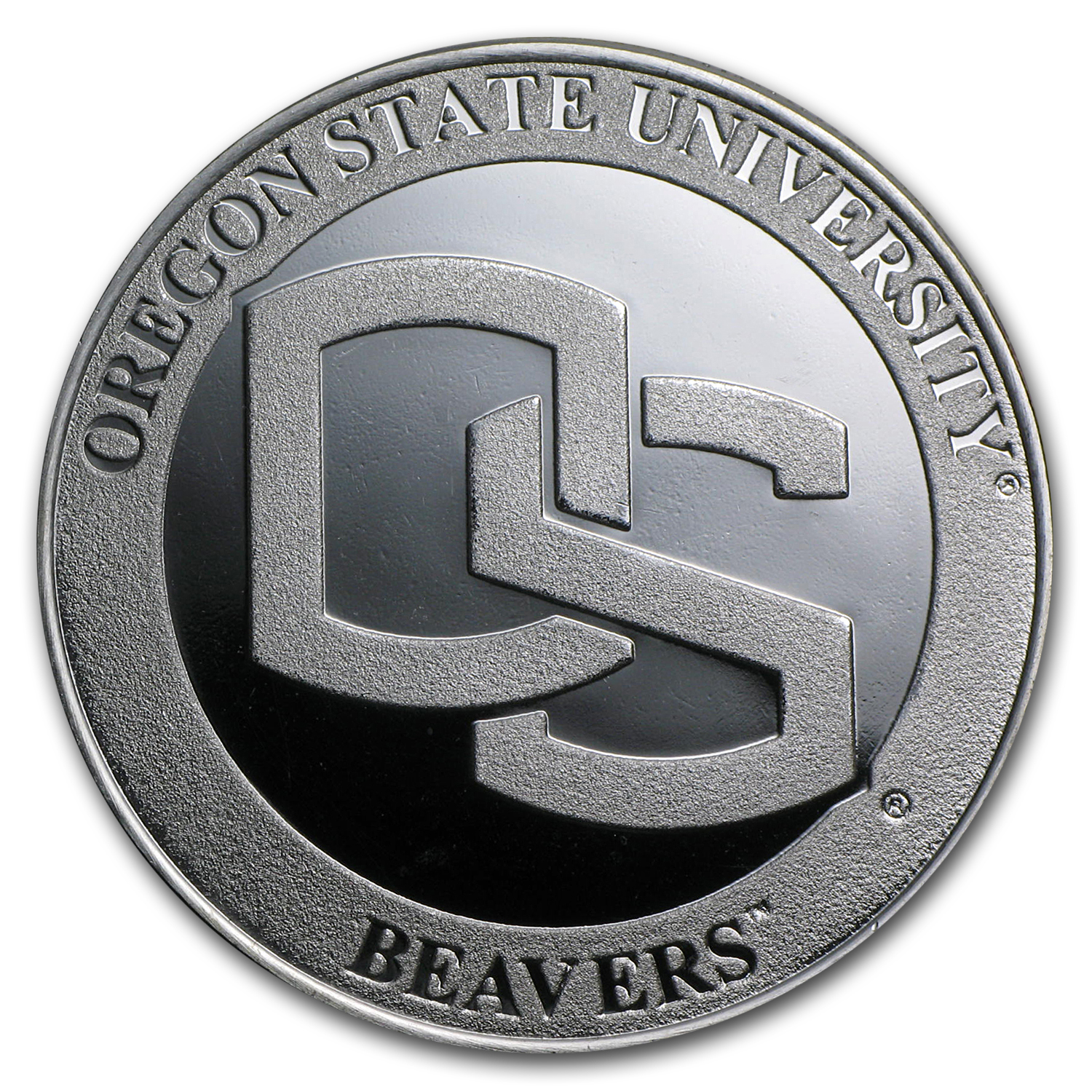 1 oz Silver Round - Oregon State University