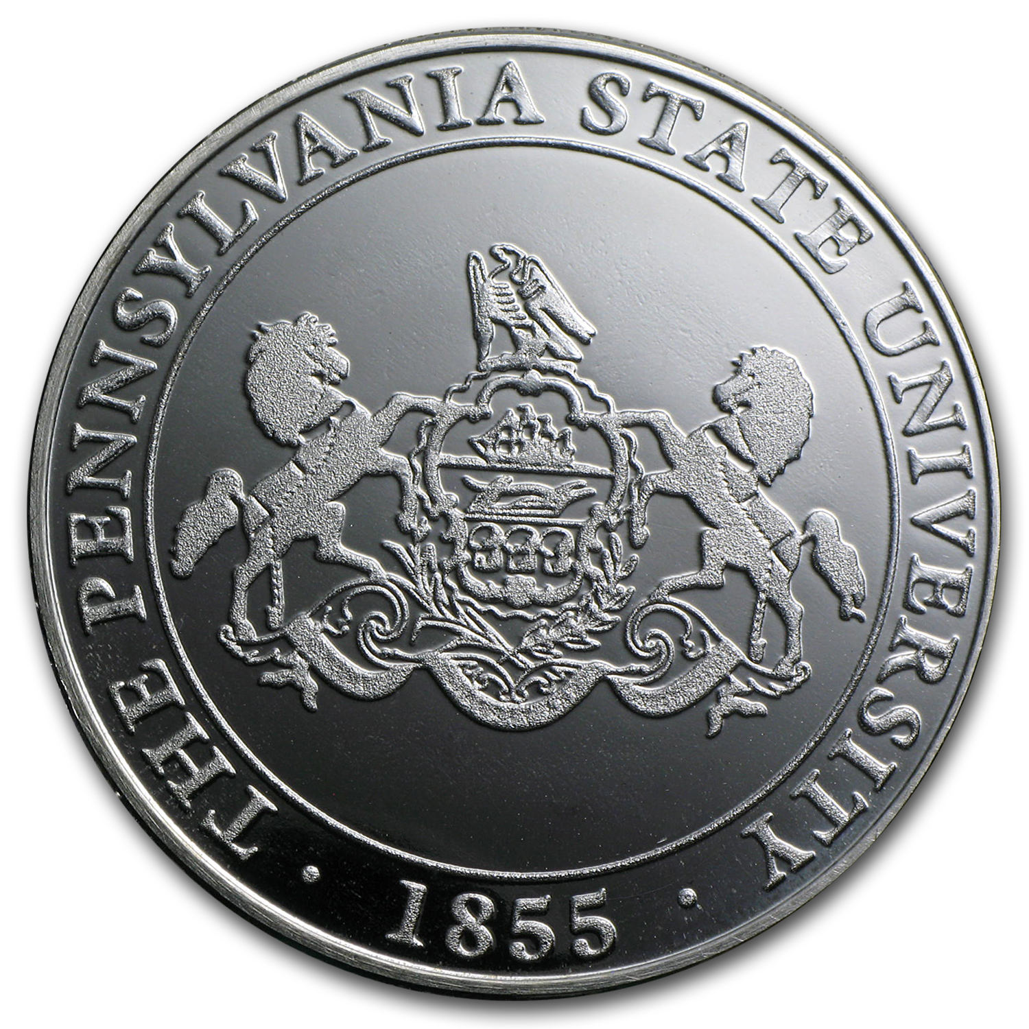 1 oz Pennsylvania State University Silver Round