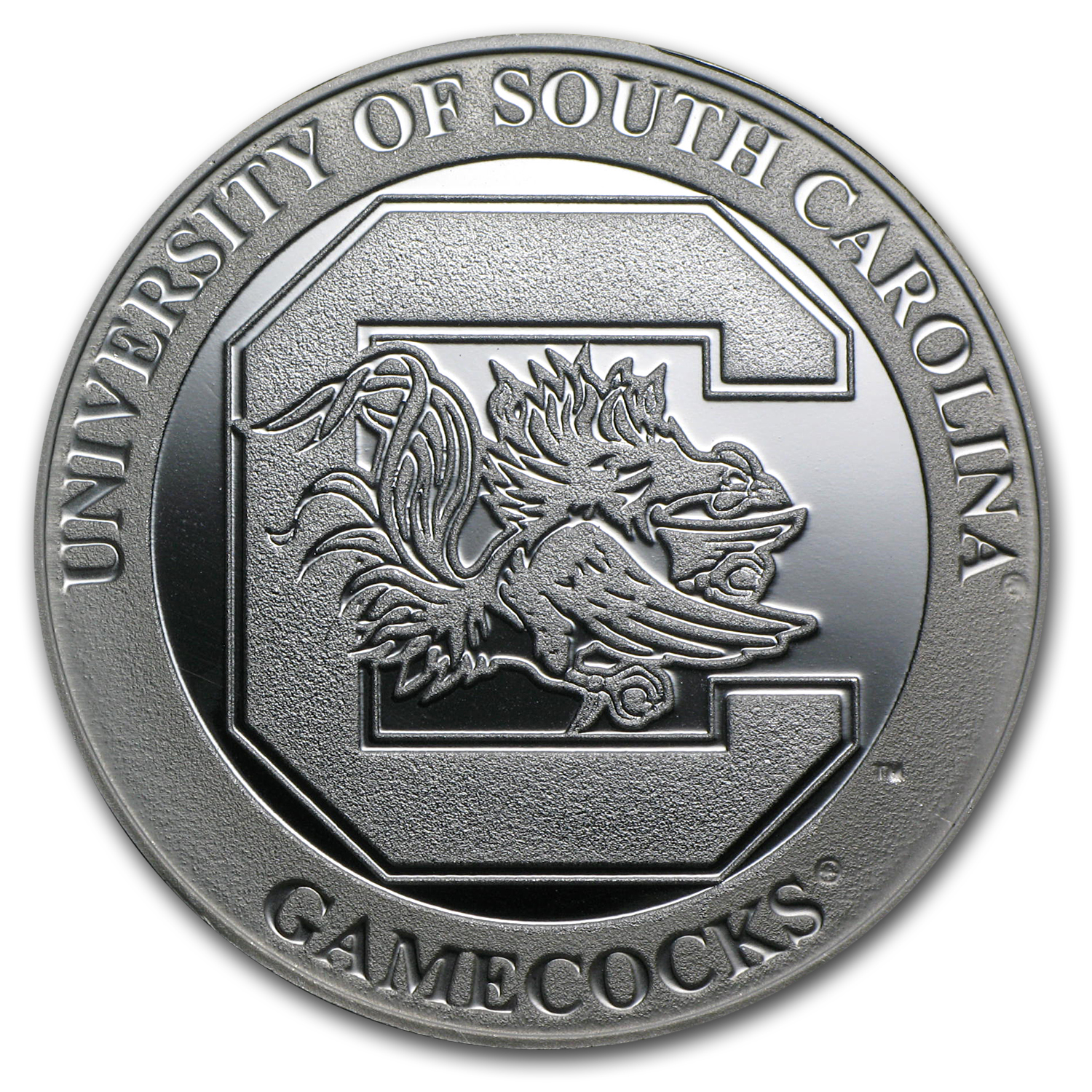 1 oz University of South Carolina Silver Round