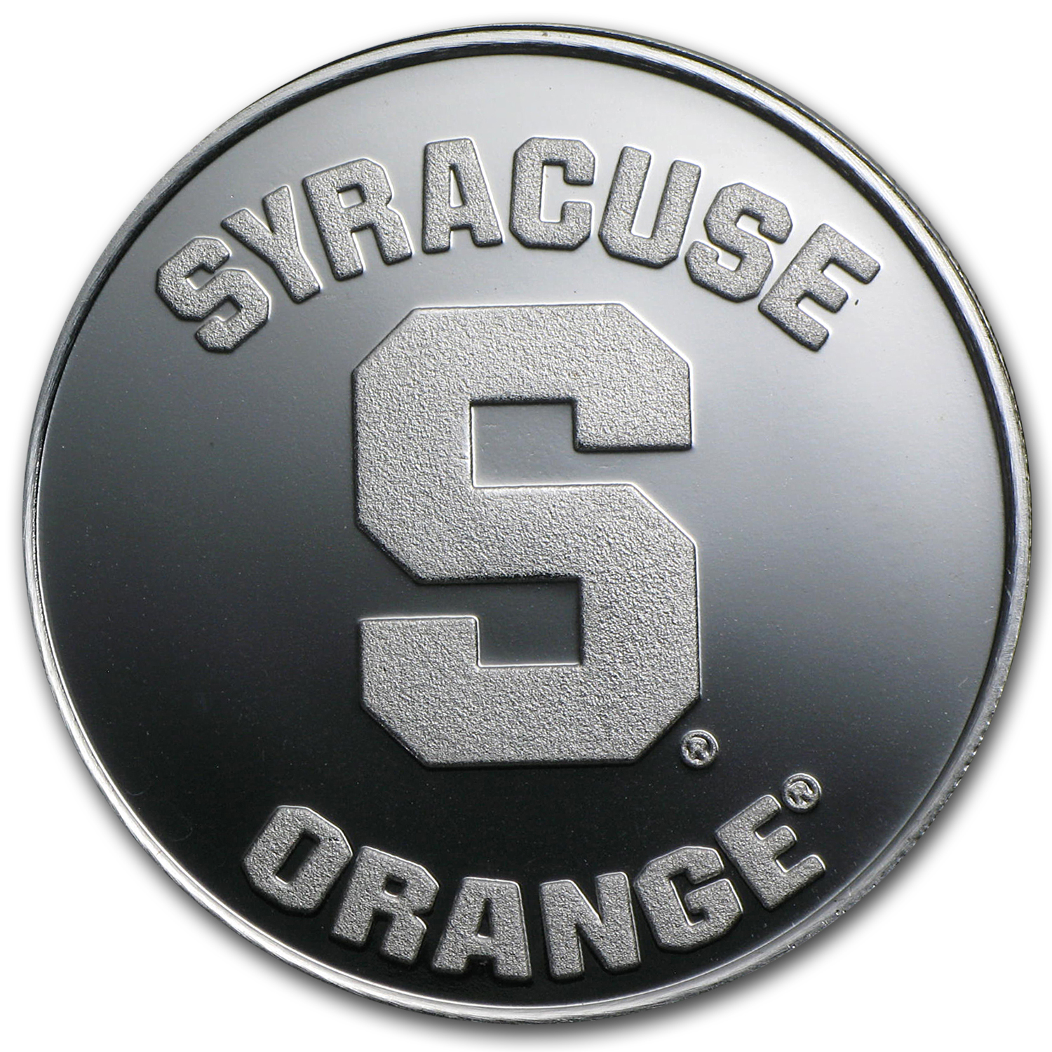 1 oz Silver Round - Syracuse University