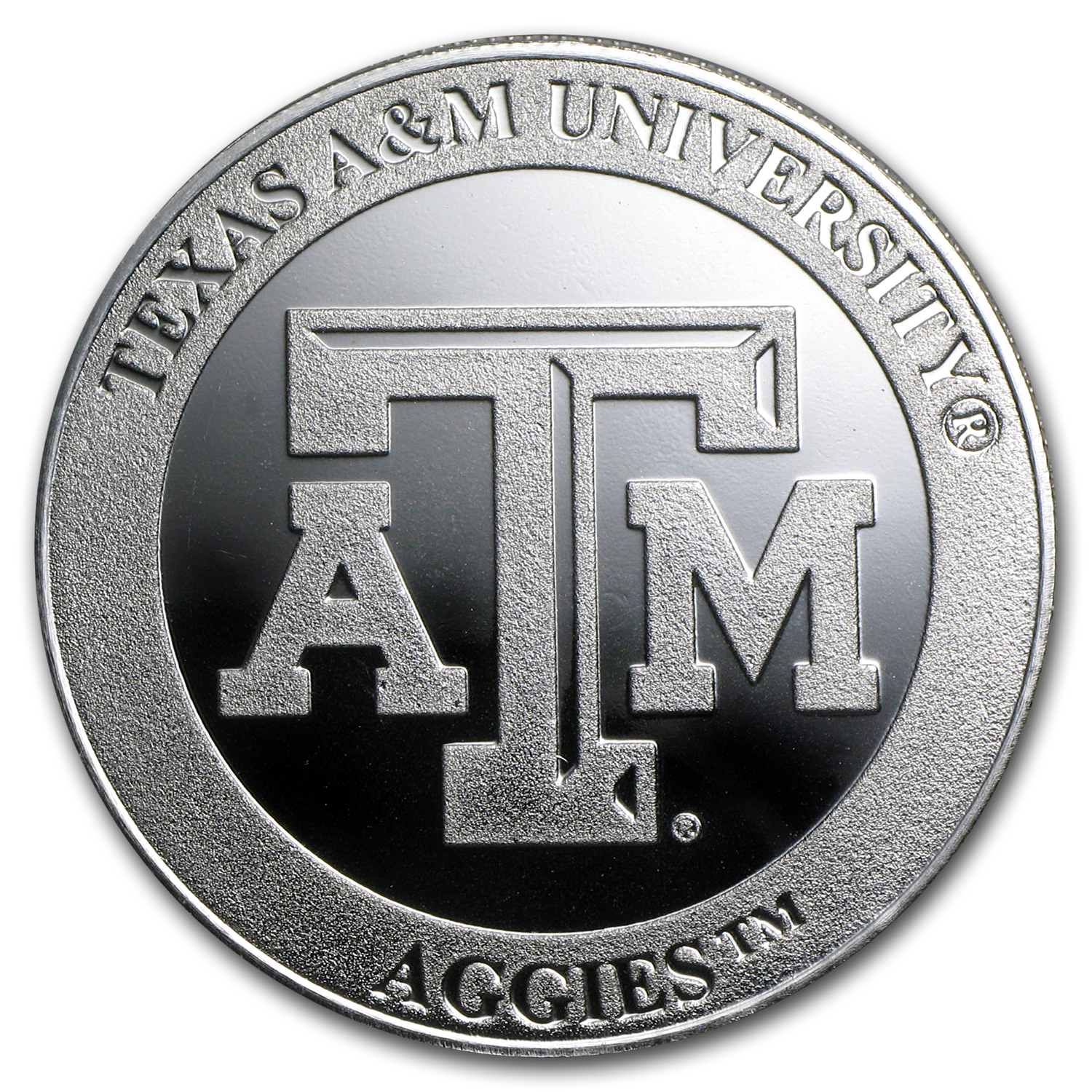 1 oz Silver Round - Texas A&M University