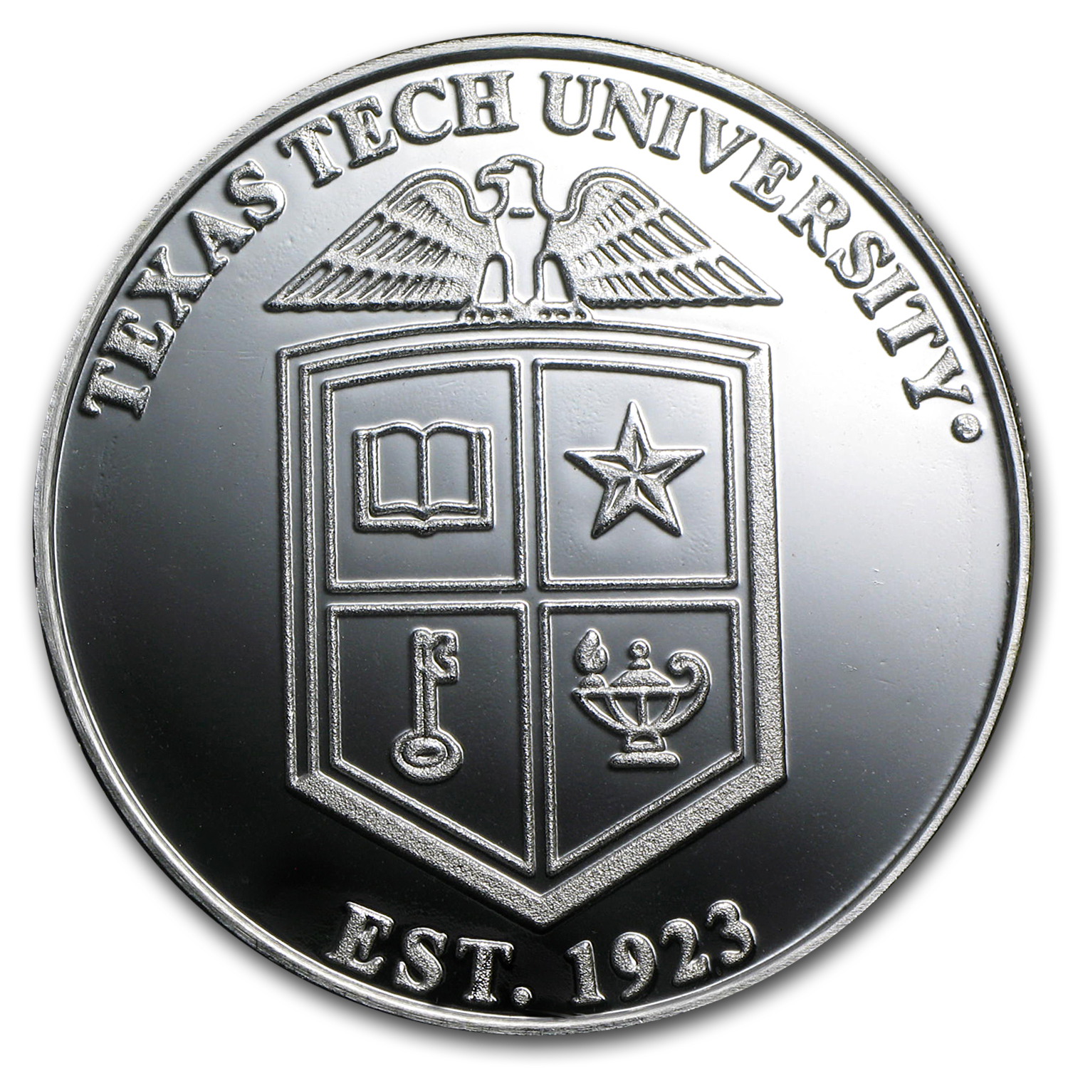 1 oz Silver Round - Texas Tech University
