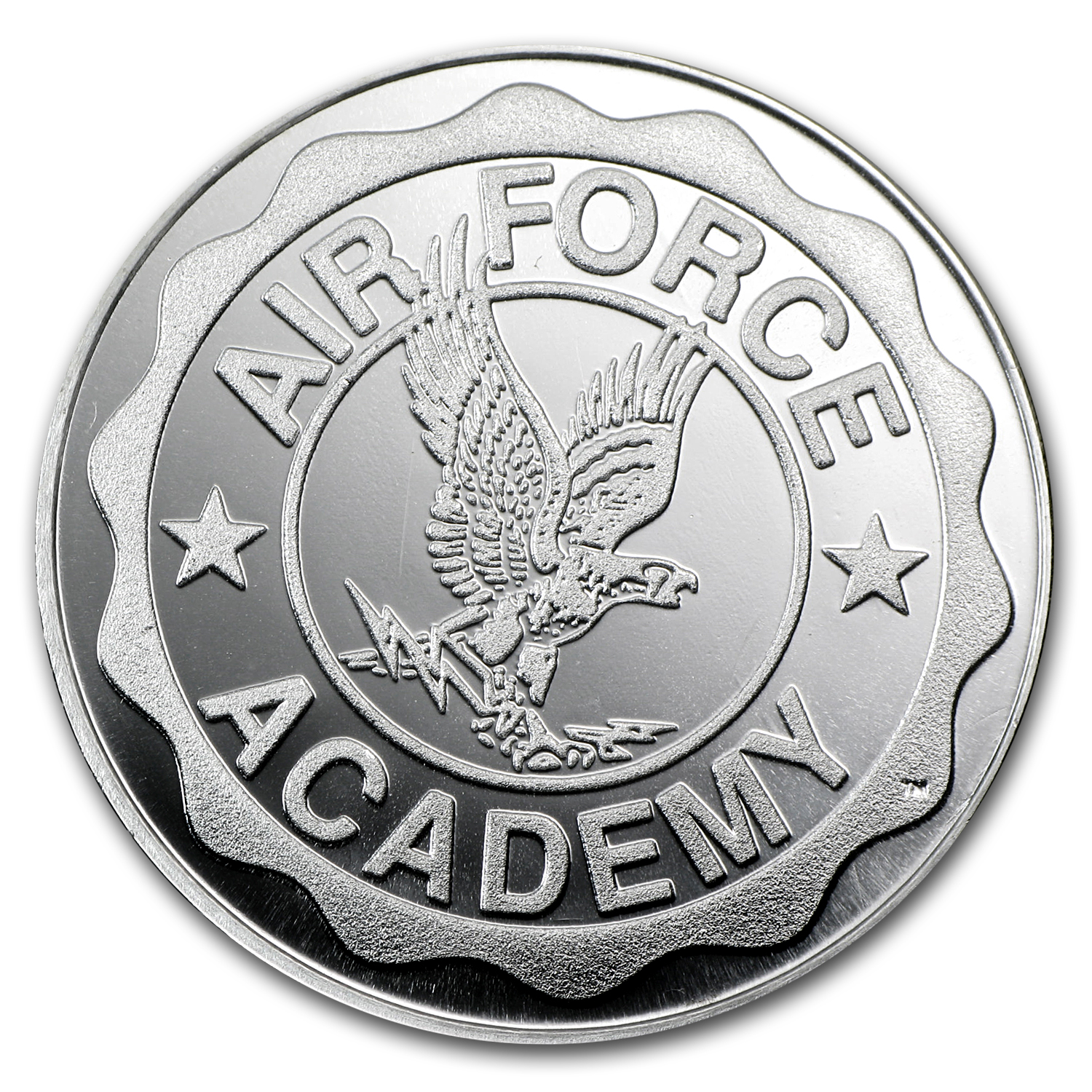 1 oz U.S. Air Force Academy Silver Round