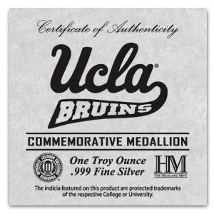 1 oz University of California Los Angeles Silver Round