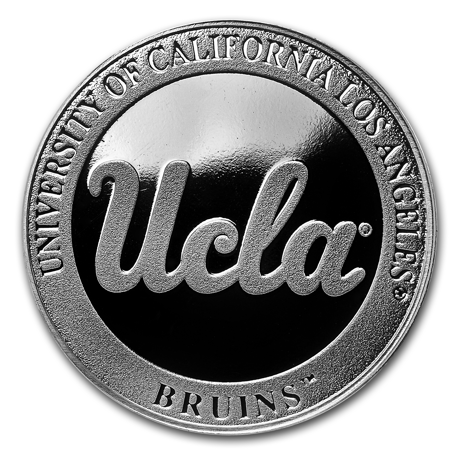 1 Oz Silver Round University Of California Los Angeles