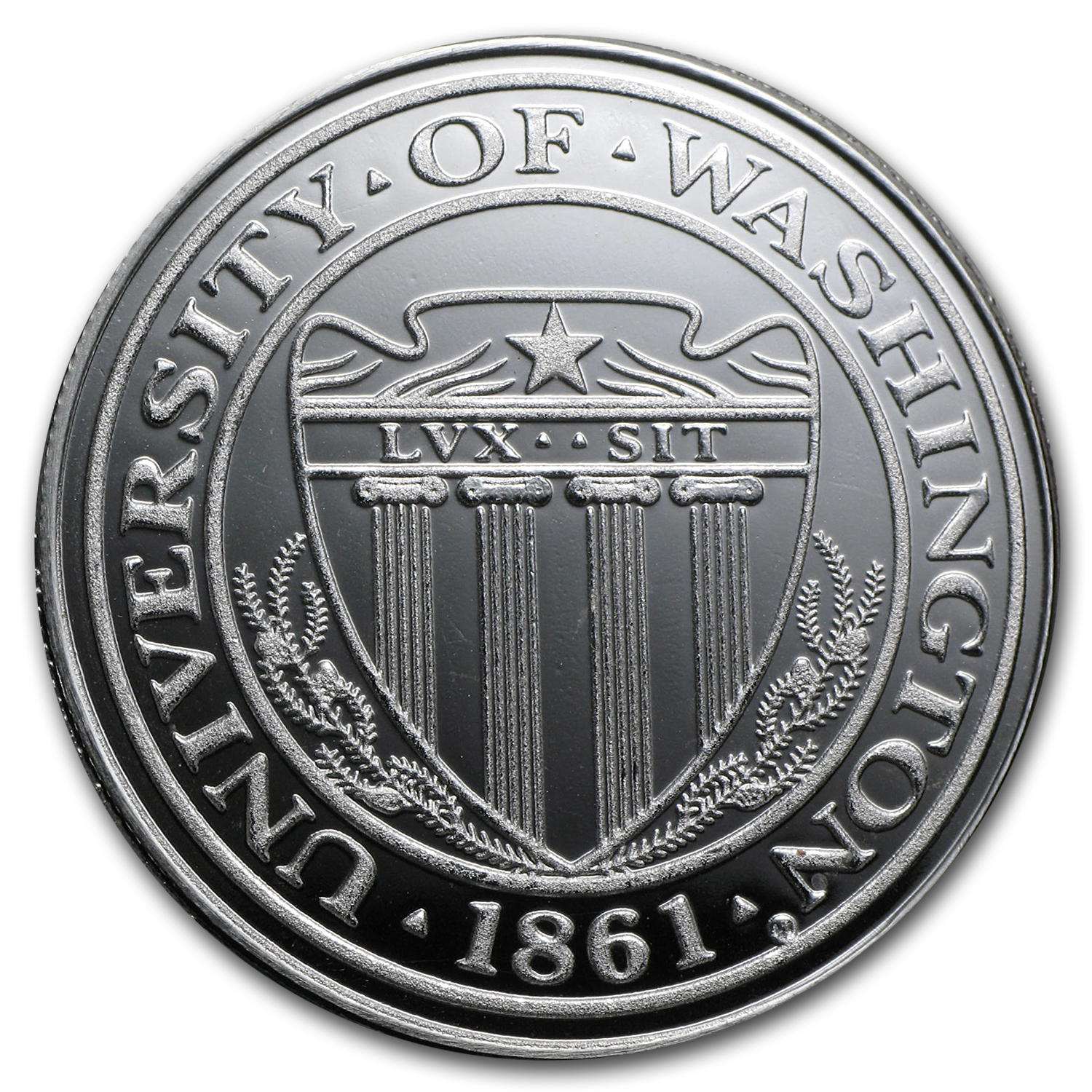 1 oz Silver Round - University of Washington