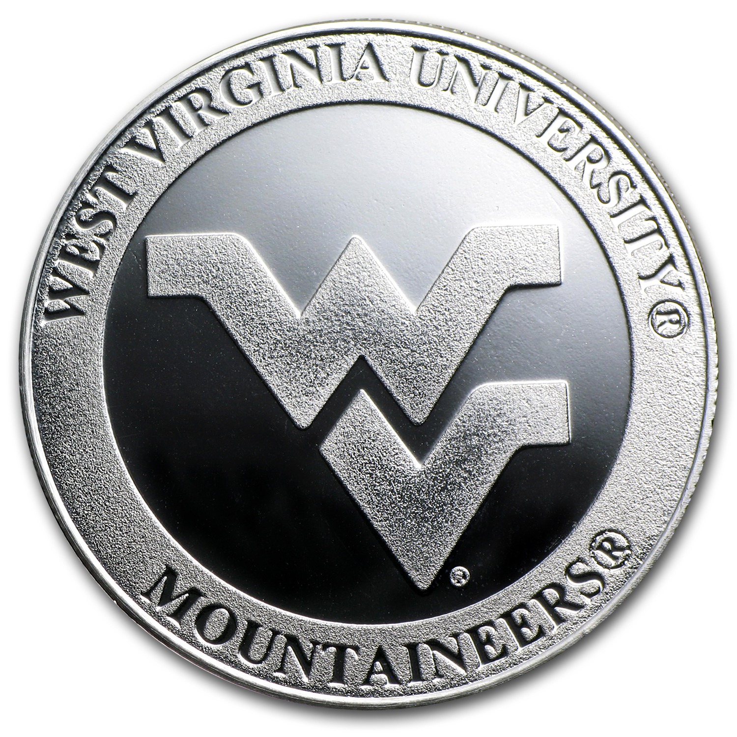 1 oz West Virginia University Silver Round