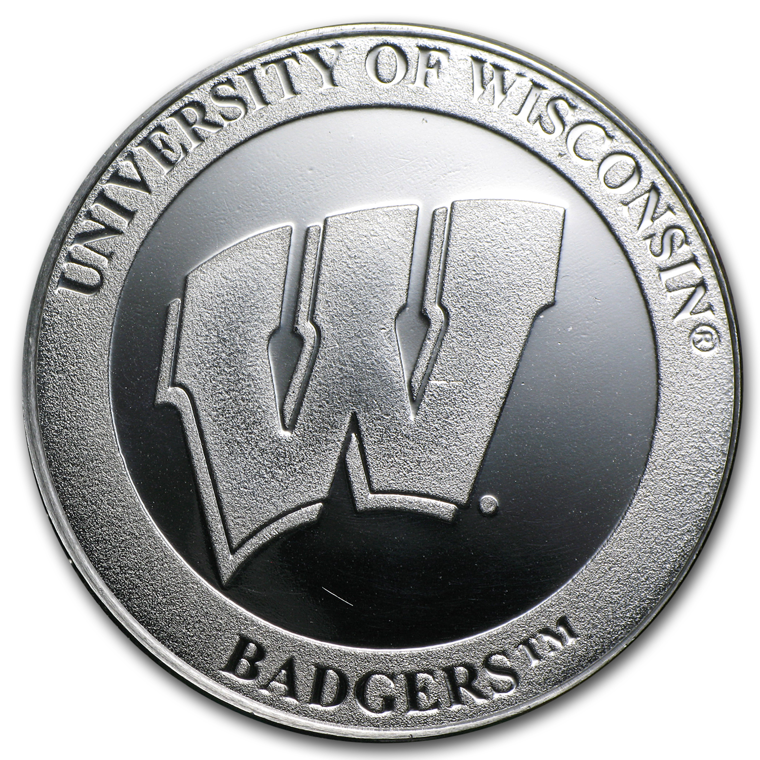 1 oz University of Wisconsin Silver Round