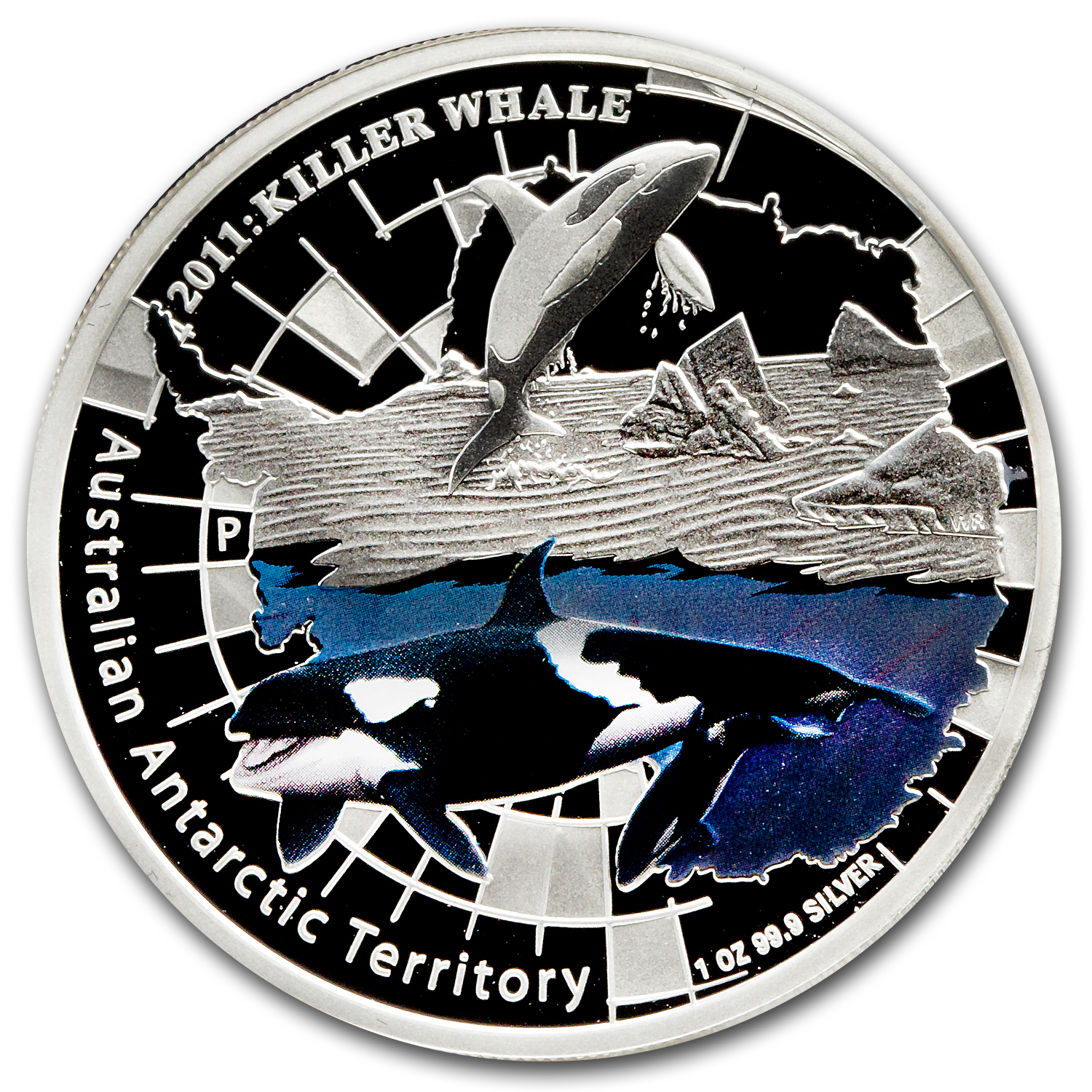 2011 Australia 1 oz Silver Killer Whale Proof