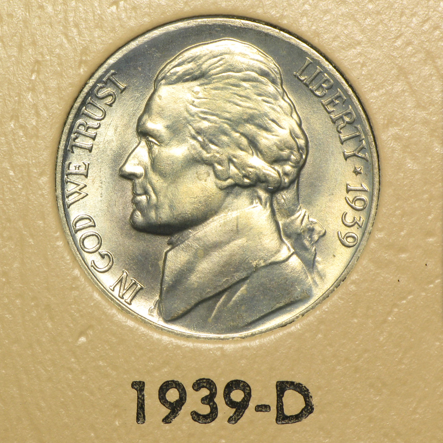 1938-2014 219-Coin Jefferson Nickel Set BU/Proof (Dansco Album)