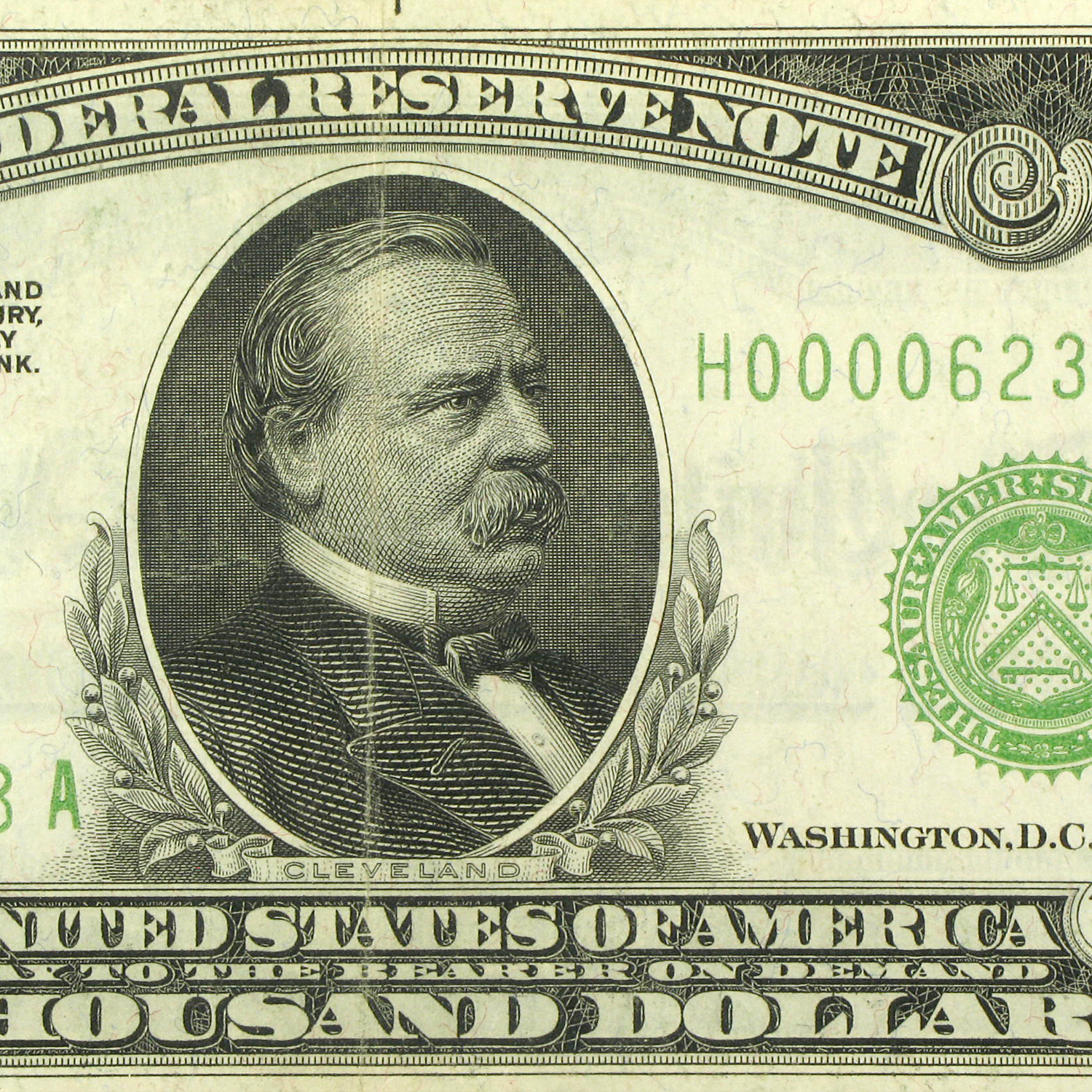1928 (H-St. Louis) $1,000 FRN (Extra Fine)