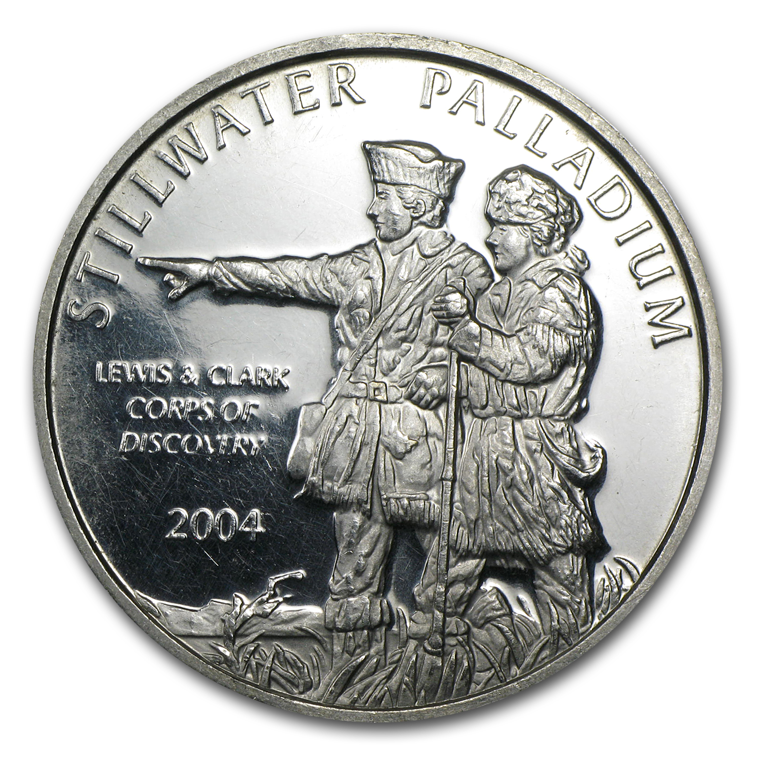 1 oz Palladium Round - Secondary Market
