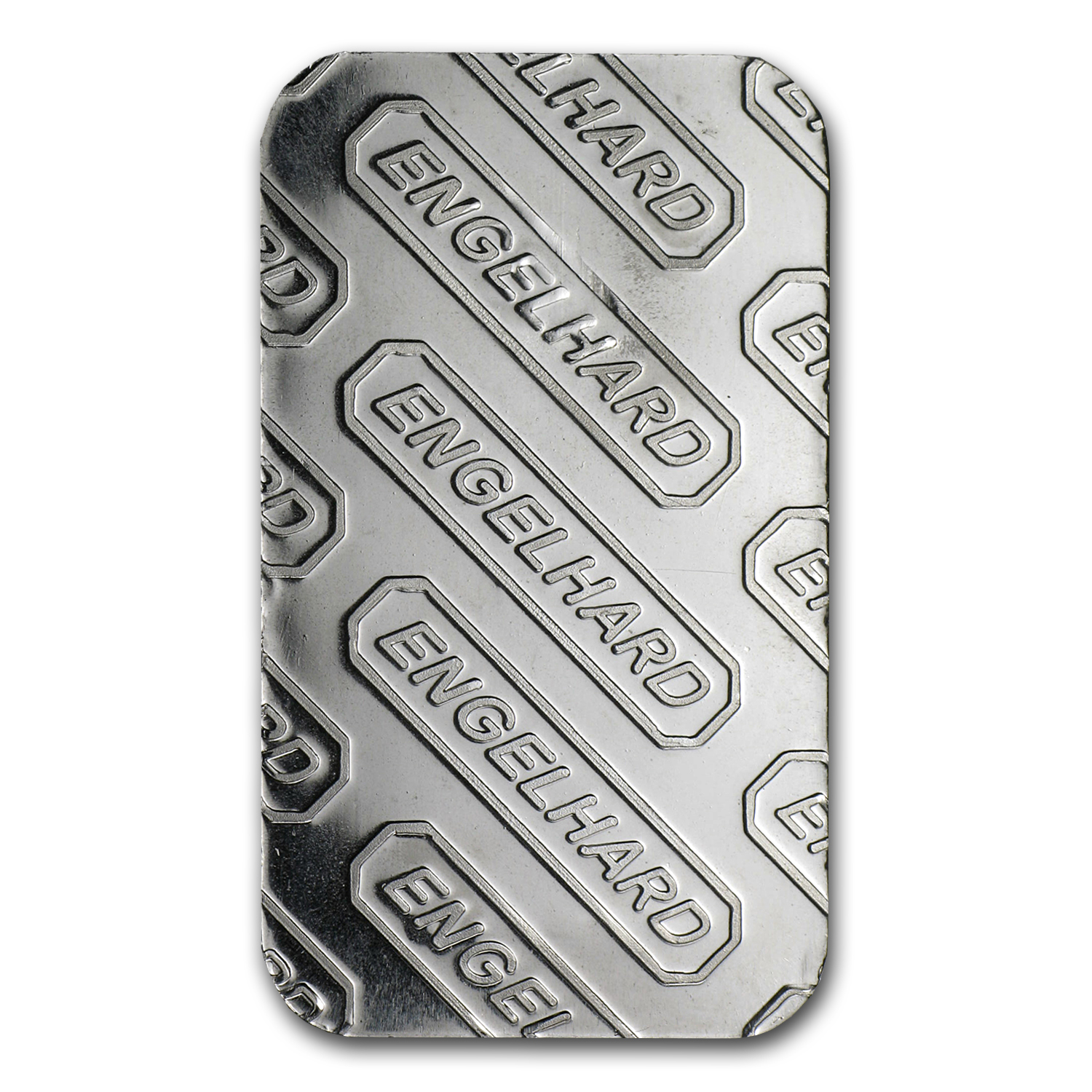 1 oz Engelhard Platinum Bar .9995 Fine ('E' logo, No Assay)