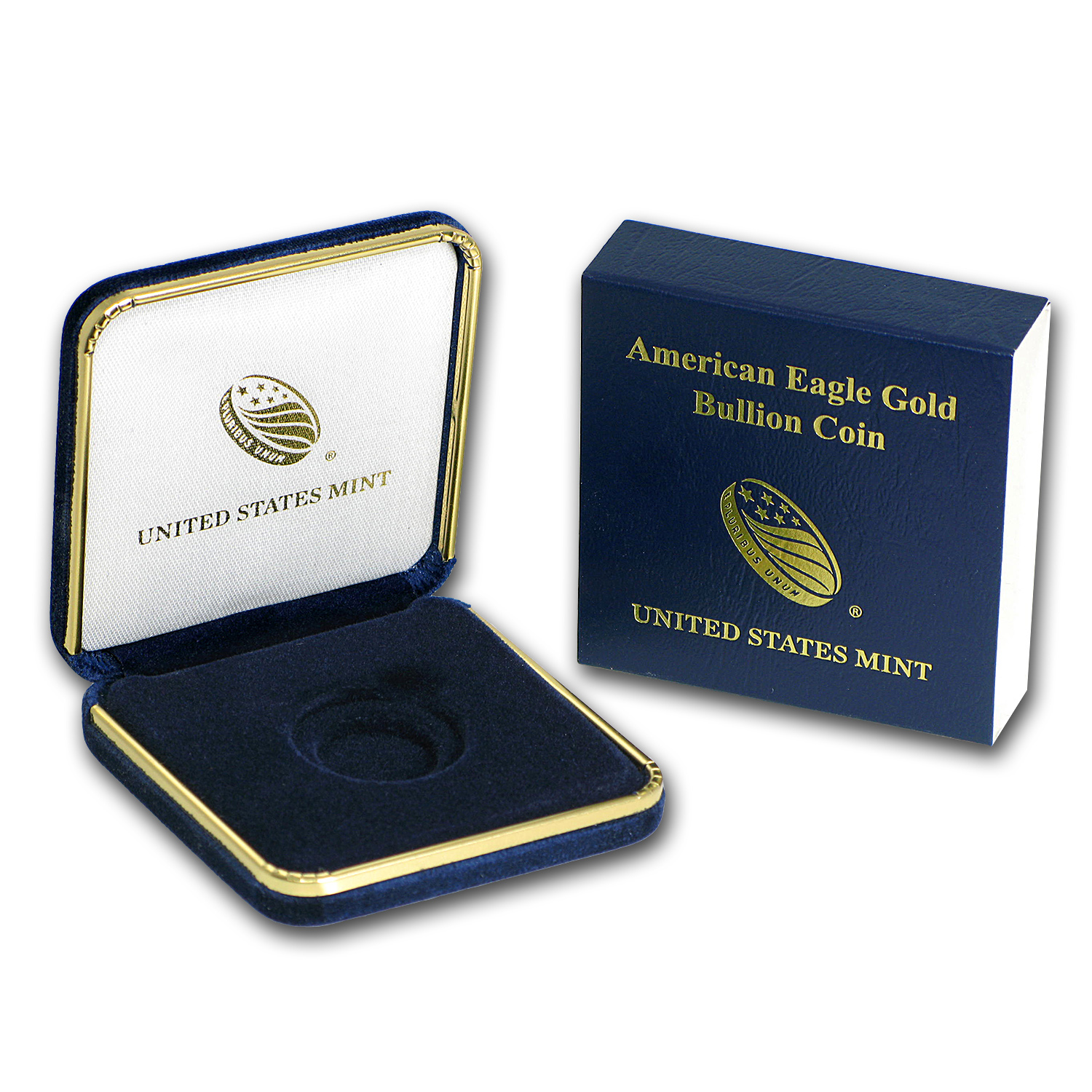Empty 1/10 oz Gold American Eagle U.S. Mint Box