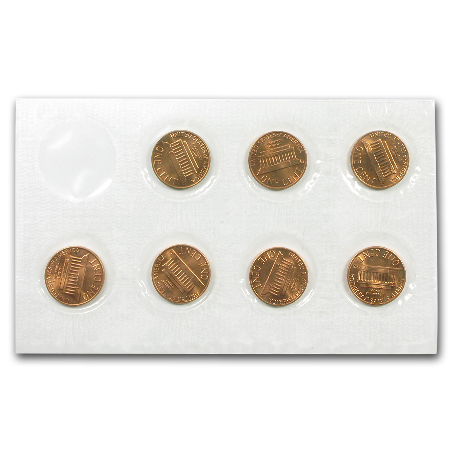 1982 Lincoln Cent 7-Coin Variety Set BU