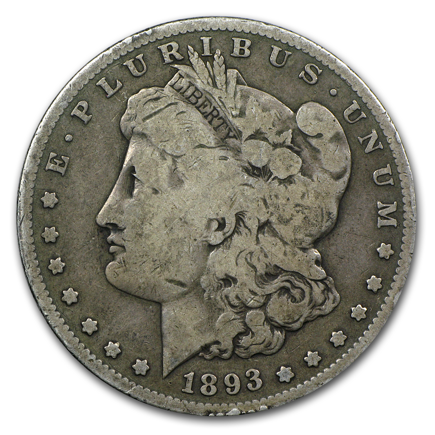 1893-S Morgan Dollar VG