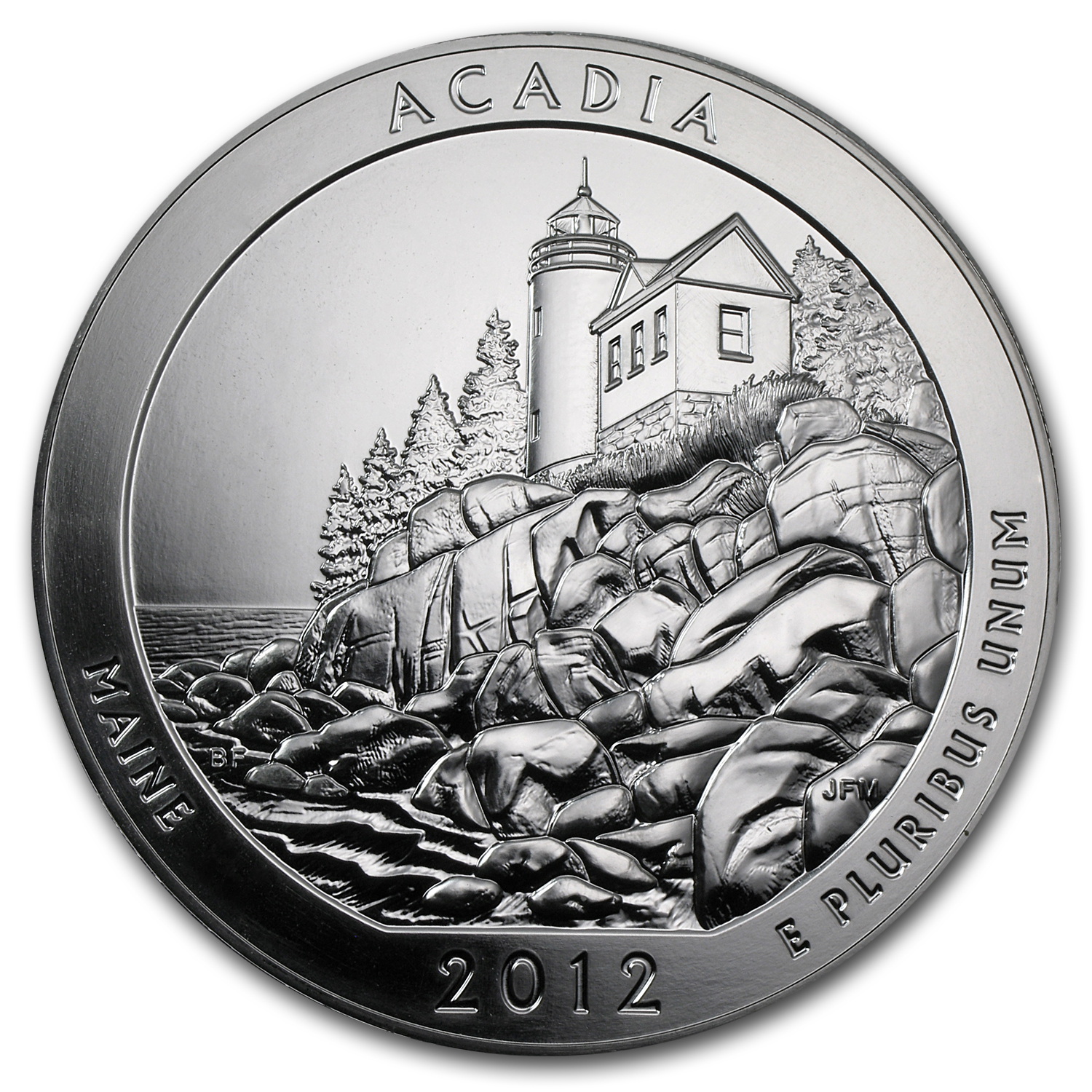 2012 5 oz Silver ATB - Acadia National Park, Maine