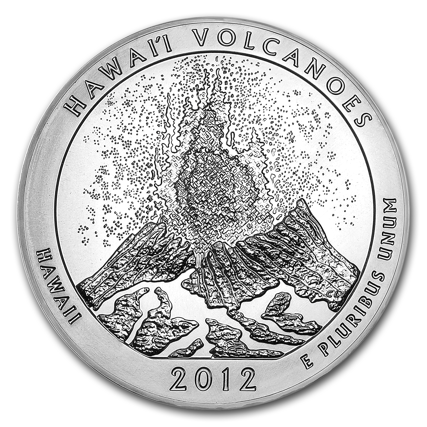 2012 5 oz Silver ATB Hawaii Volcanoes National Park, HI