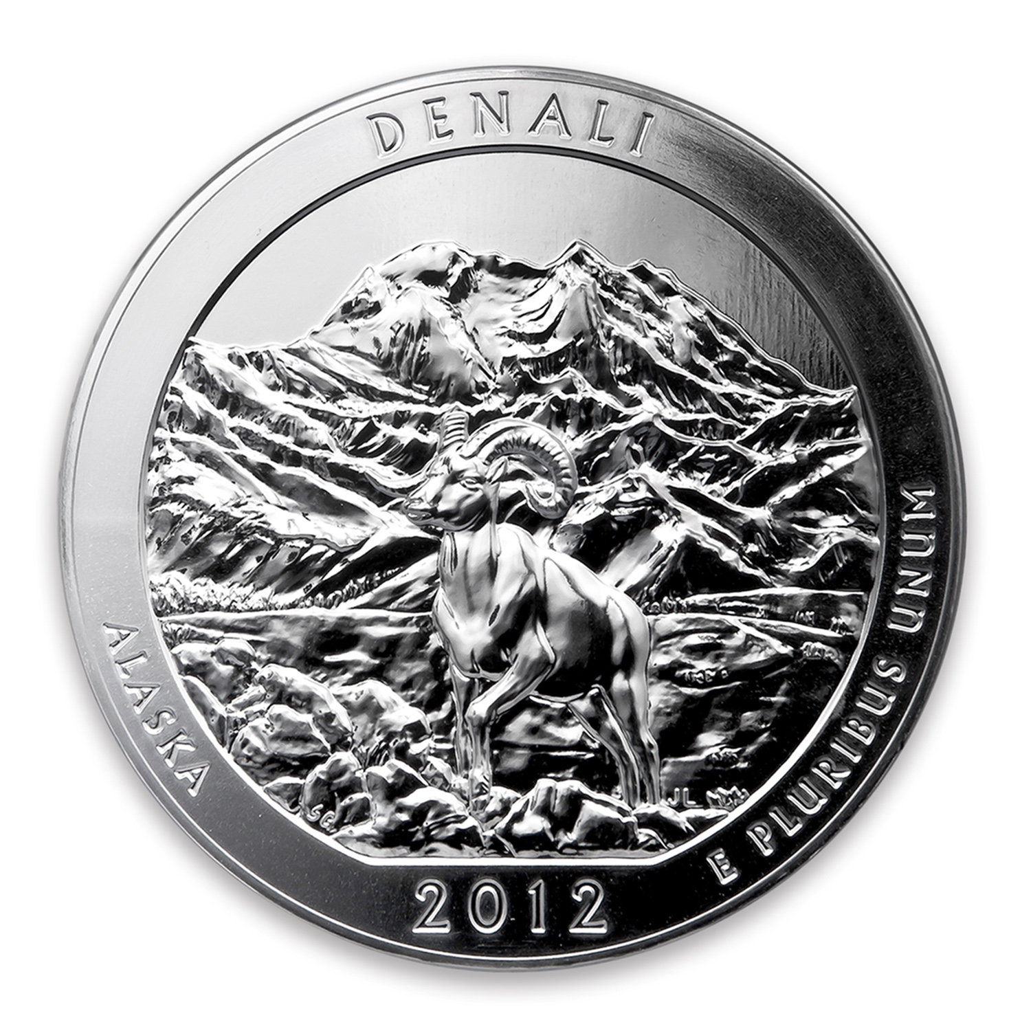 2012 5 oz Silver ATB Denali National Park, AK