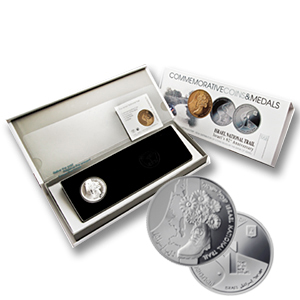 2010 Israel Silver 1 NIS National Trail Proof-like (w/Box & COA)