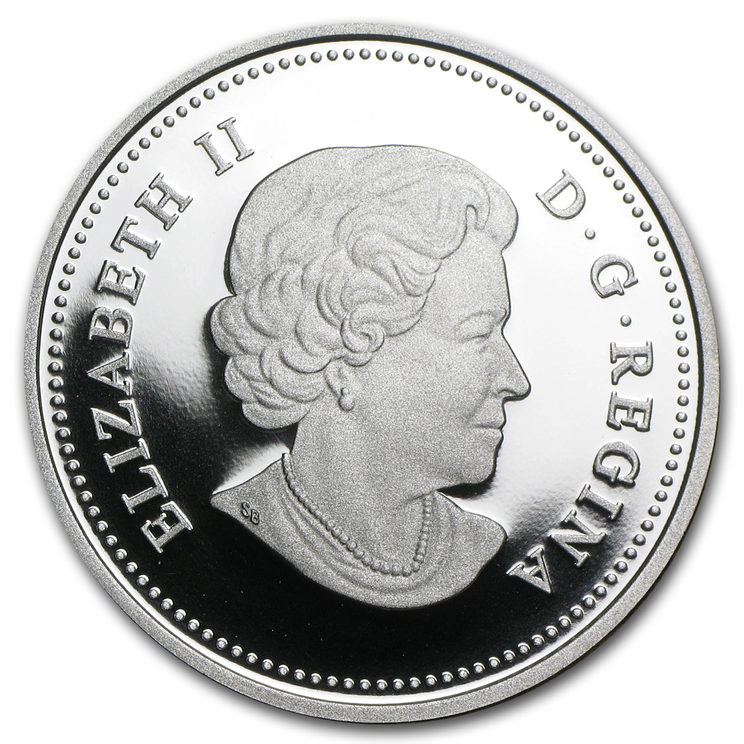 2012 1 oz Silver Canadian $20 The Queen's Visit (w/Box & COA)