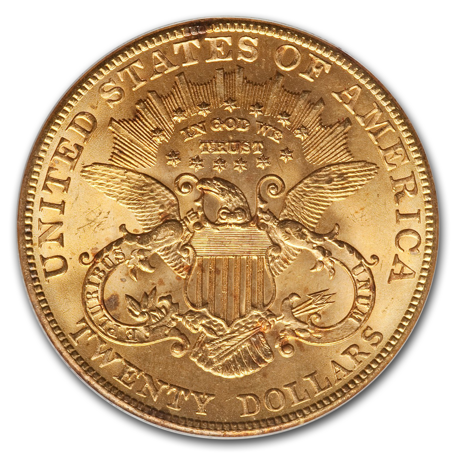 1903 $20 Gold Liberty Double Eagle - MS-65 PCGS