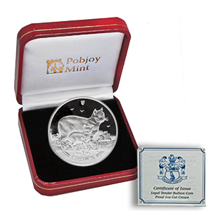 1988-2012 Isle of Man 25-Coin 1 oz Silver Cat PF Set