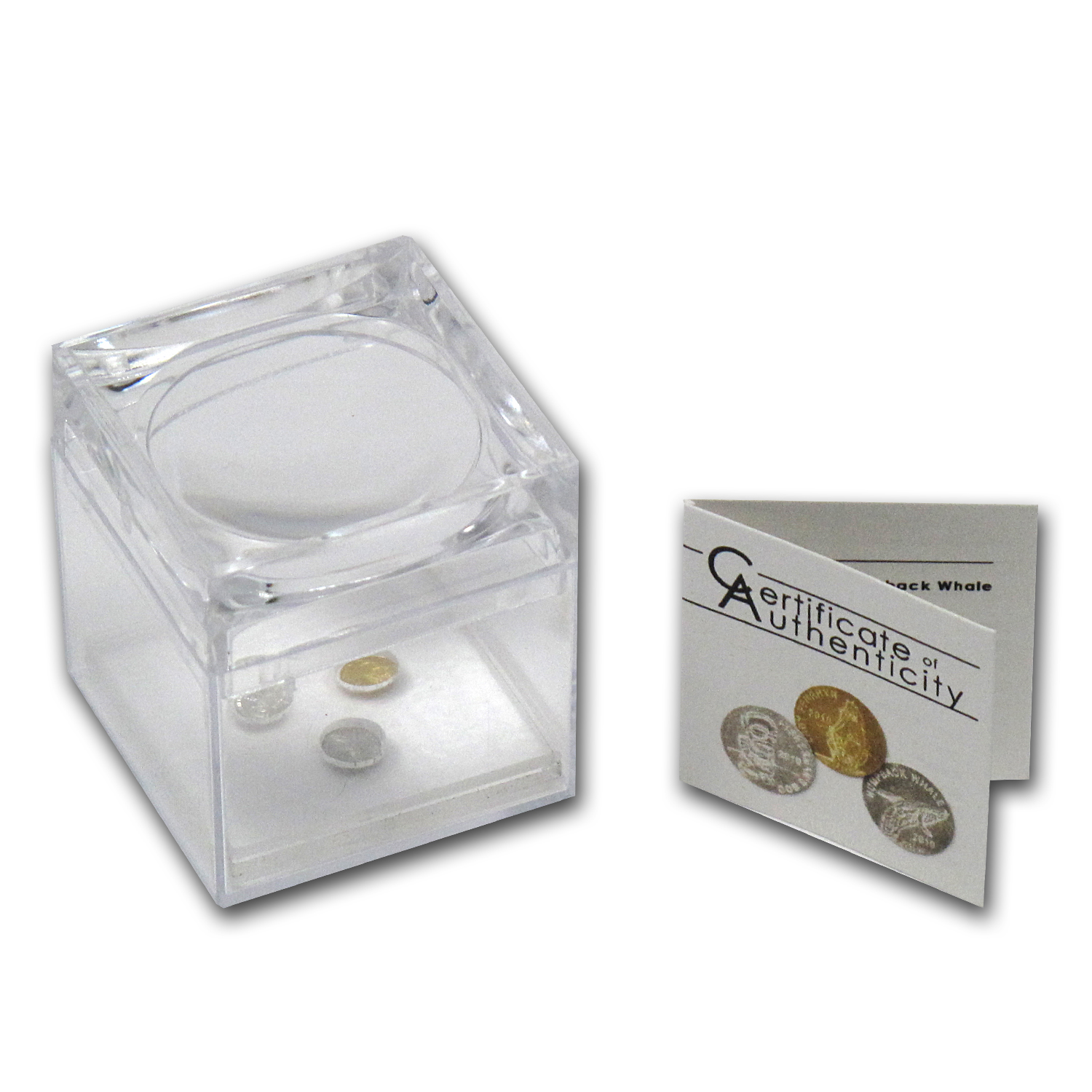 2010 Cook Island 3-Coin Platinum, Gold & Silver Smallest Coin Set