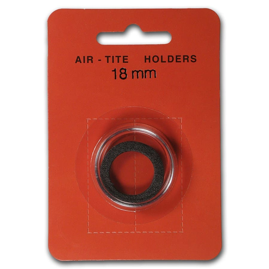 Air-Tite Holder w/ Black Gasket - 18 mm