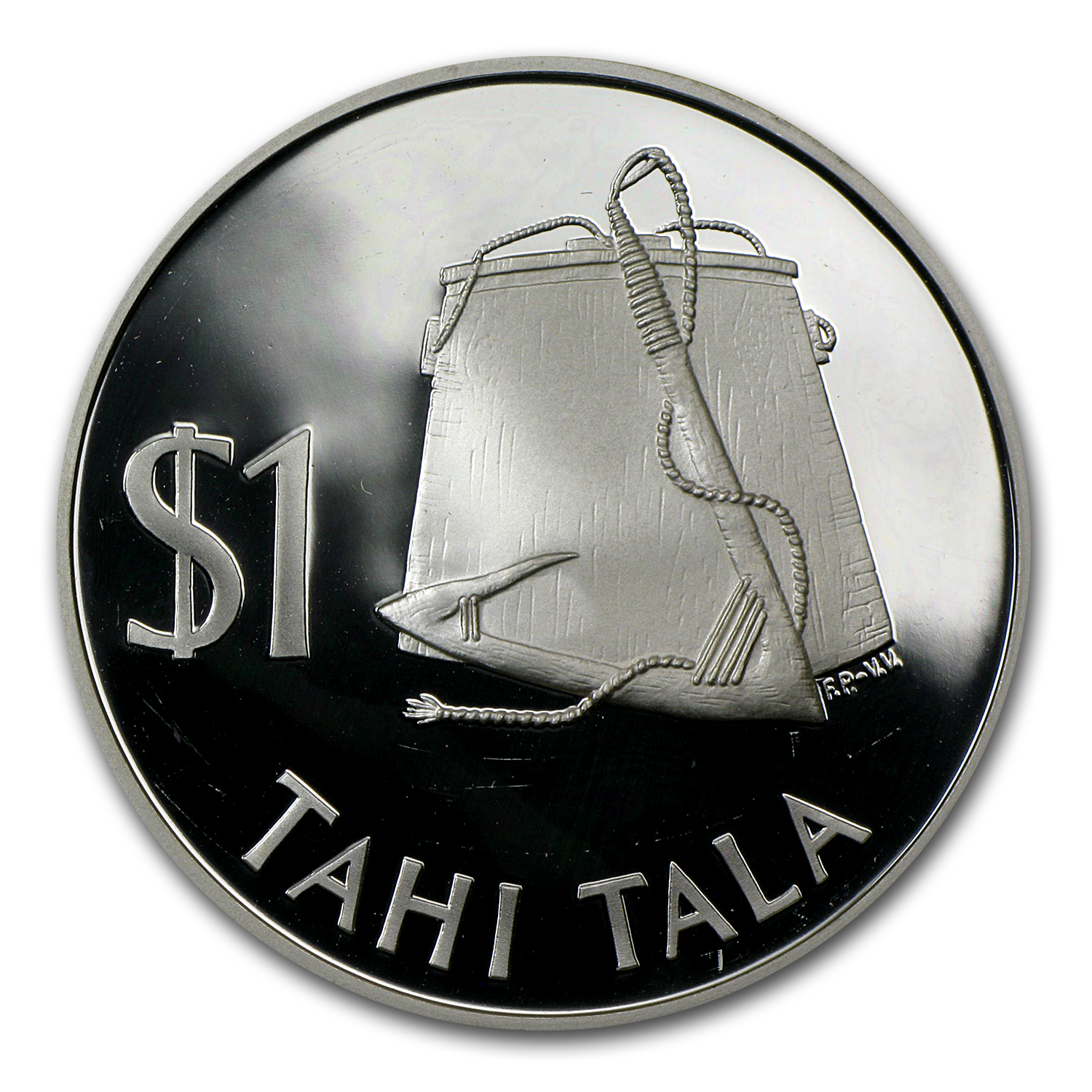 Tokelau 1979 1 Tala Silver Proof Tools