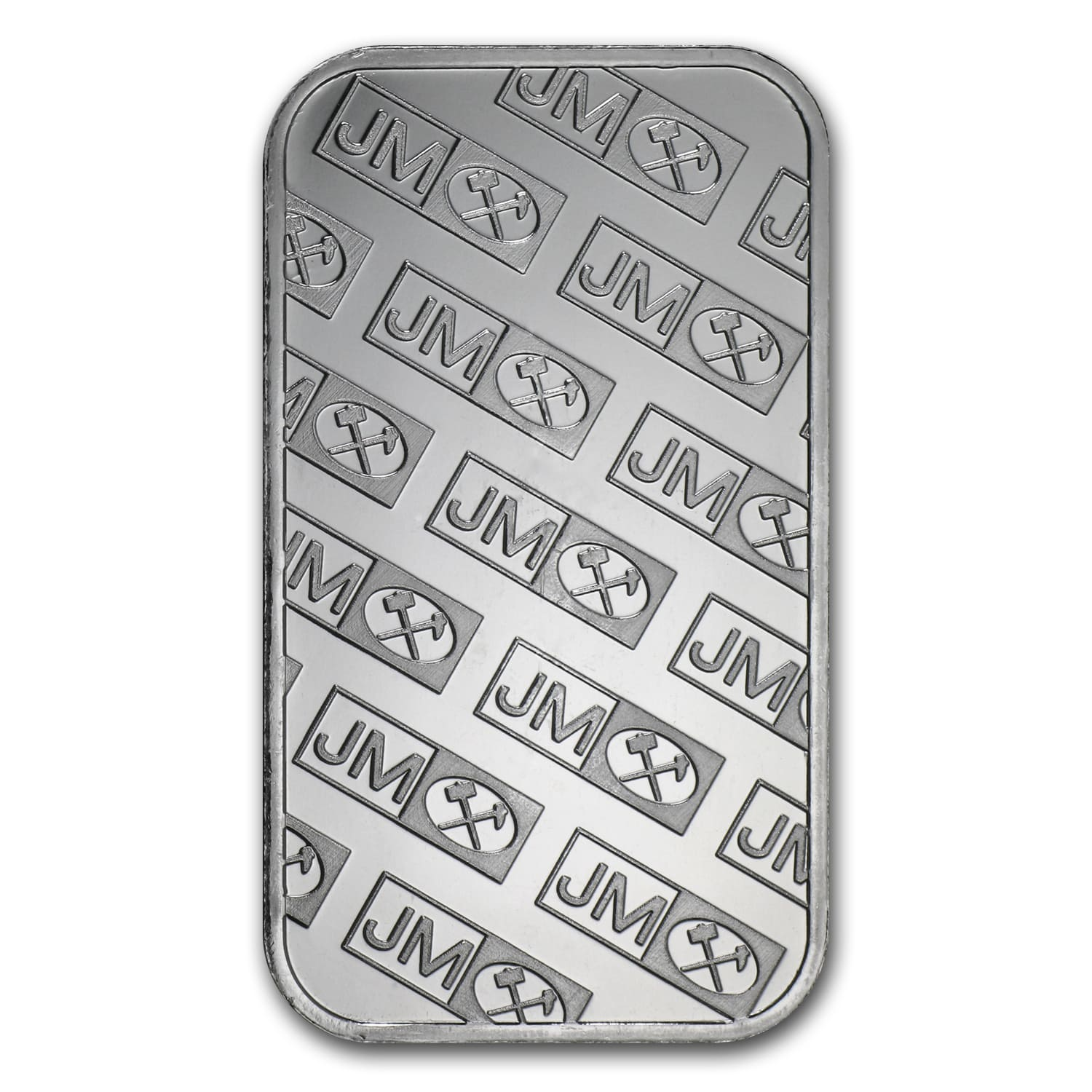 1 oz Silver Bar - Johnson Matthey (New JM Logo Reverse)