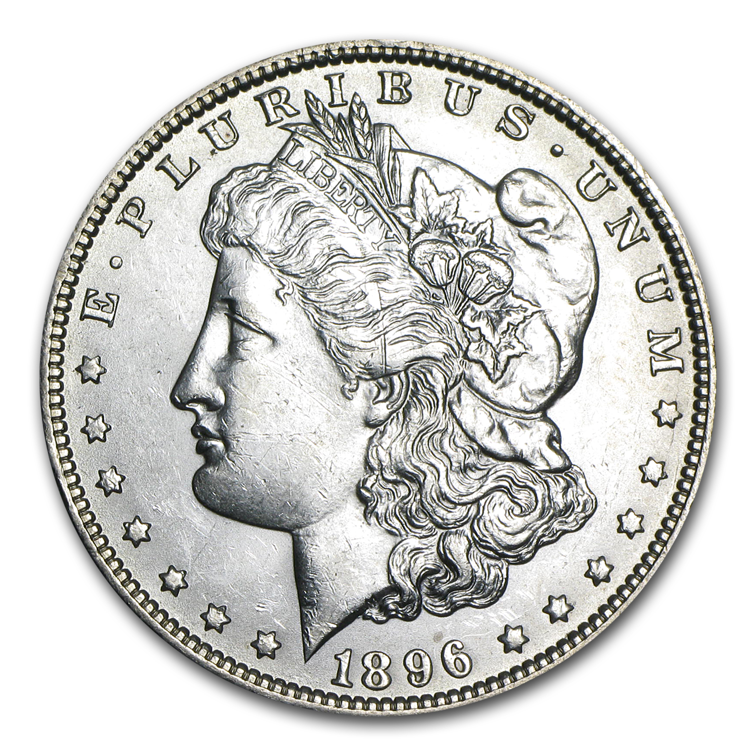 1896-O Morgan Dollar - Brilliant Uncirculated