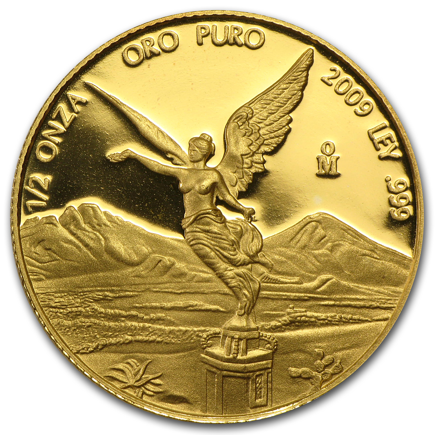 2009 Mexico 1/2 oz Proof Gold Libertad