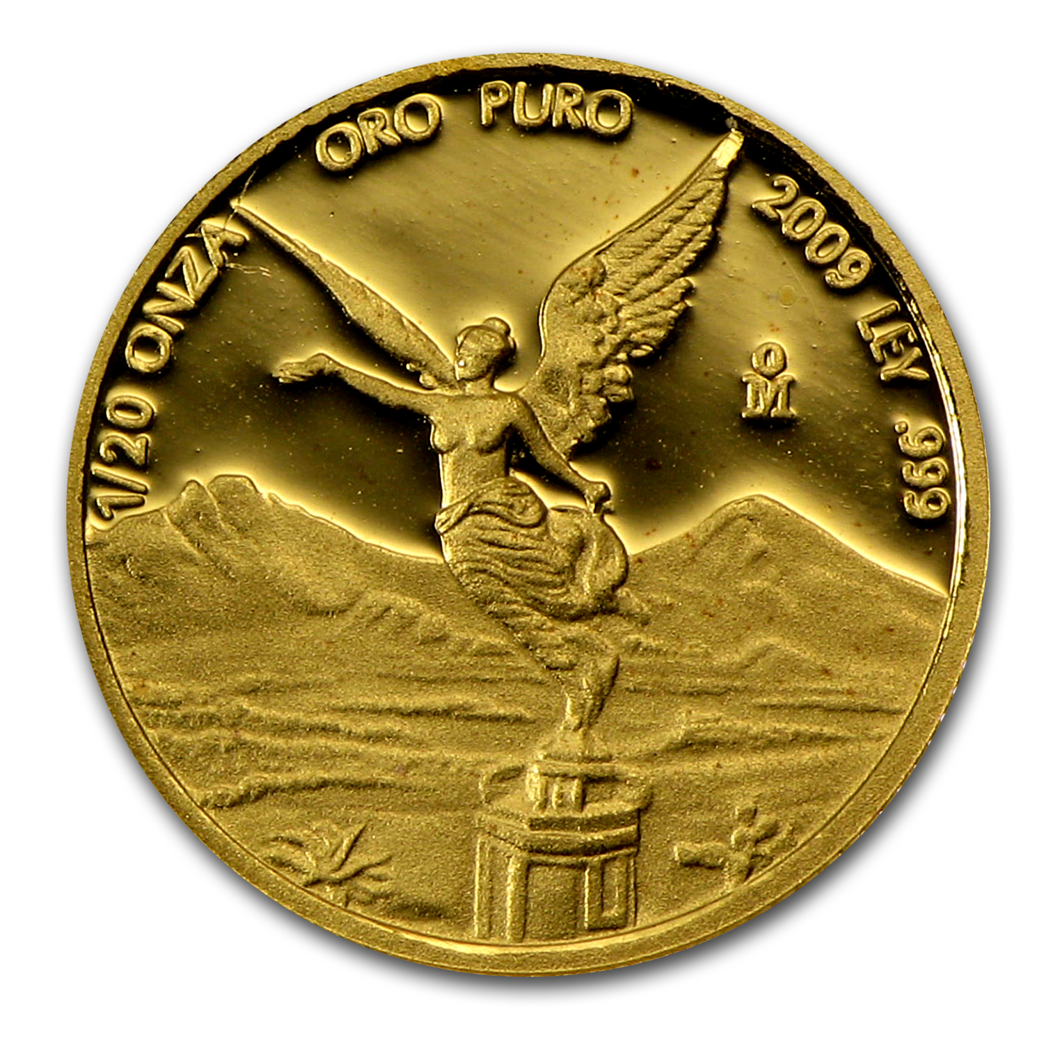 2009 Mexico 1/20 oz Proof Gold Libertad