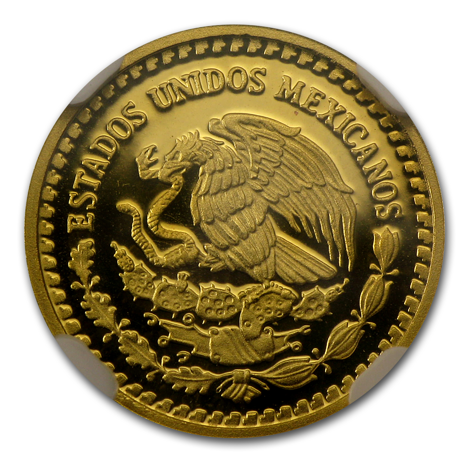 2011 1/10 oz Gold Mexican Libertad PF-70 NGC Registry Set