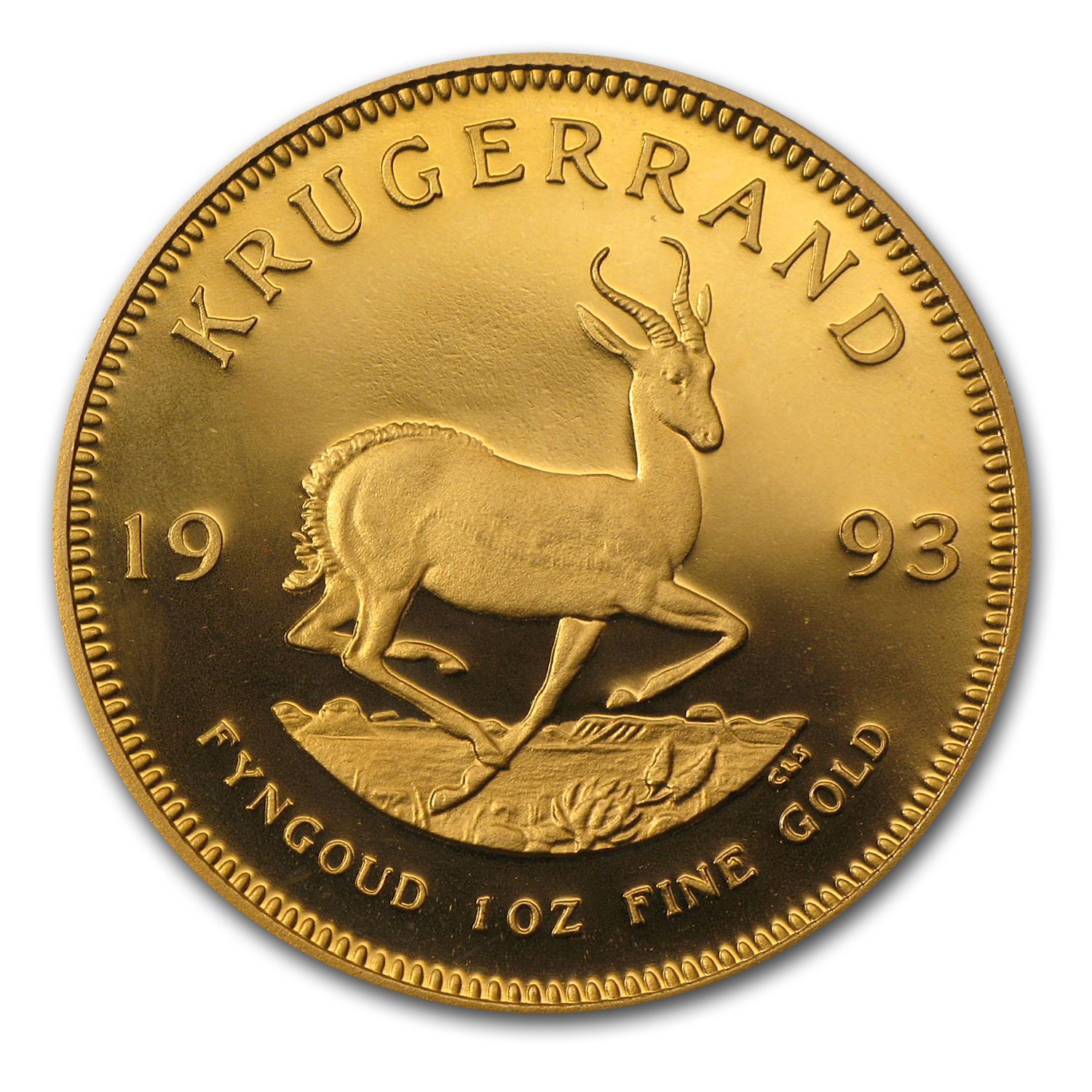 1993 South Africa 1 oz Proof Gold Krugerrand