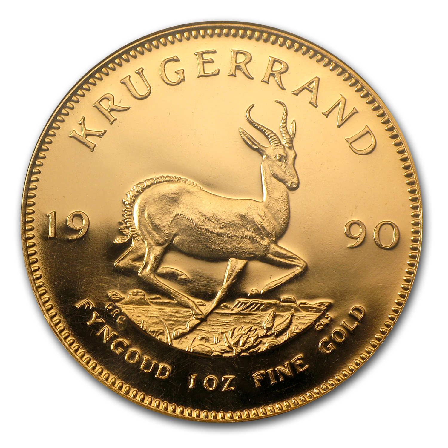 1990 1 oz Gold South African Krugerrand Proof