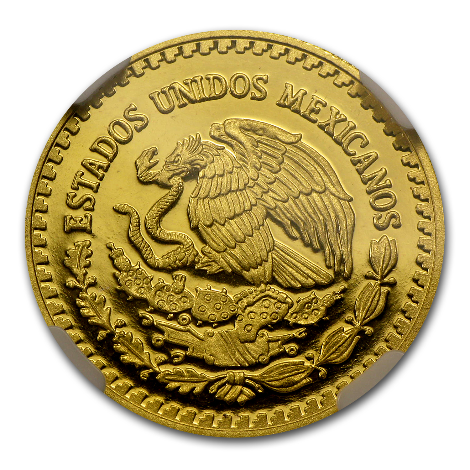 2010 1/4 oz Gold Mexican Libertad PF-70 NGC Registry Set