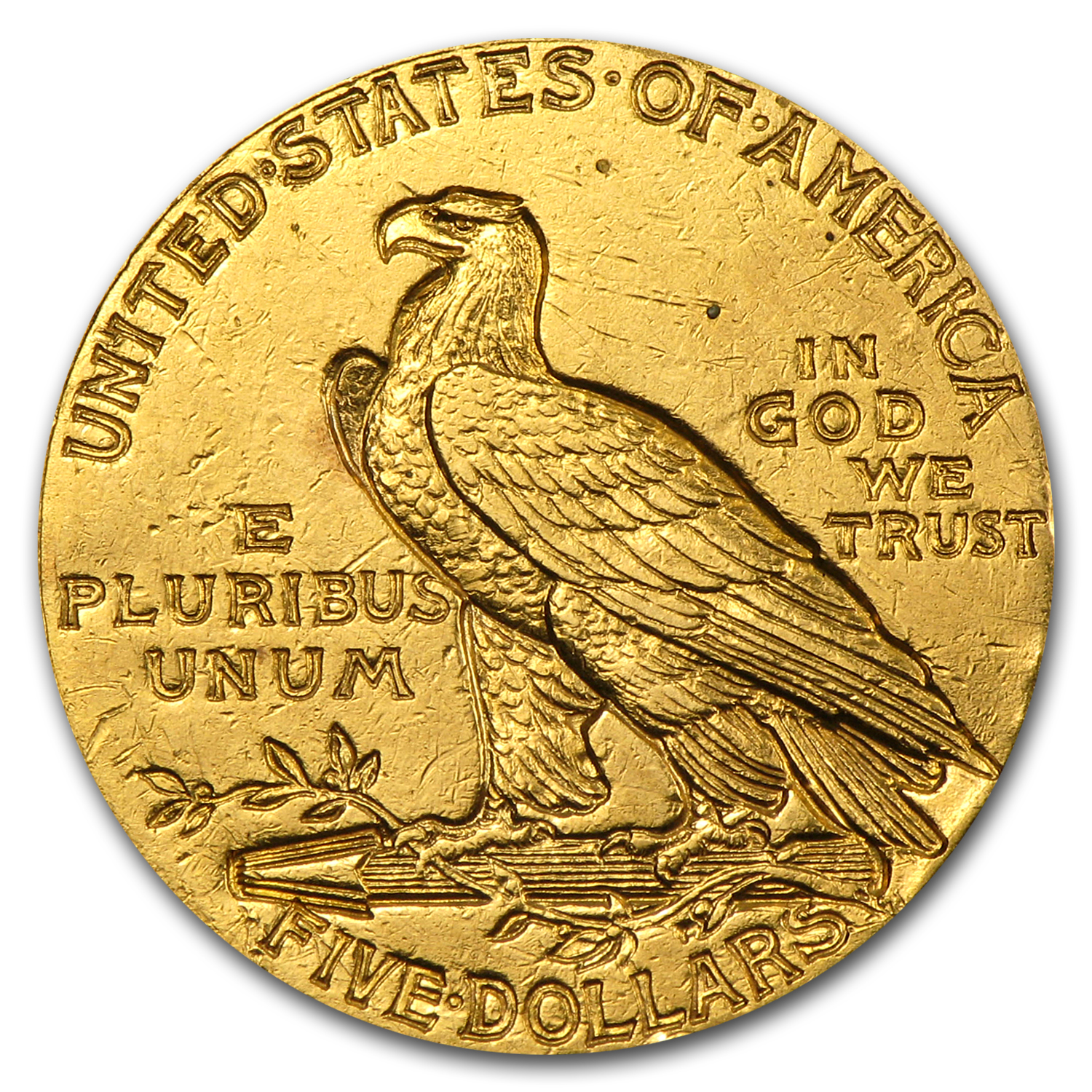 $5 Indian Gold Half Eagle - Colorized